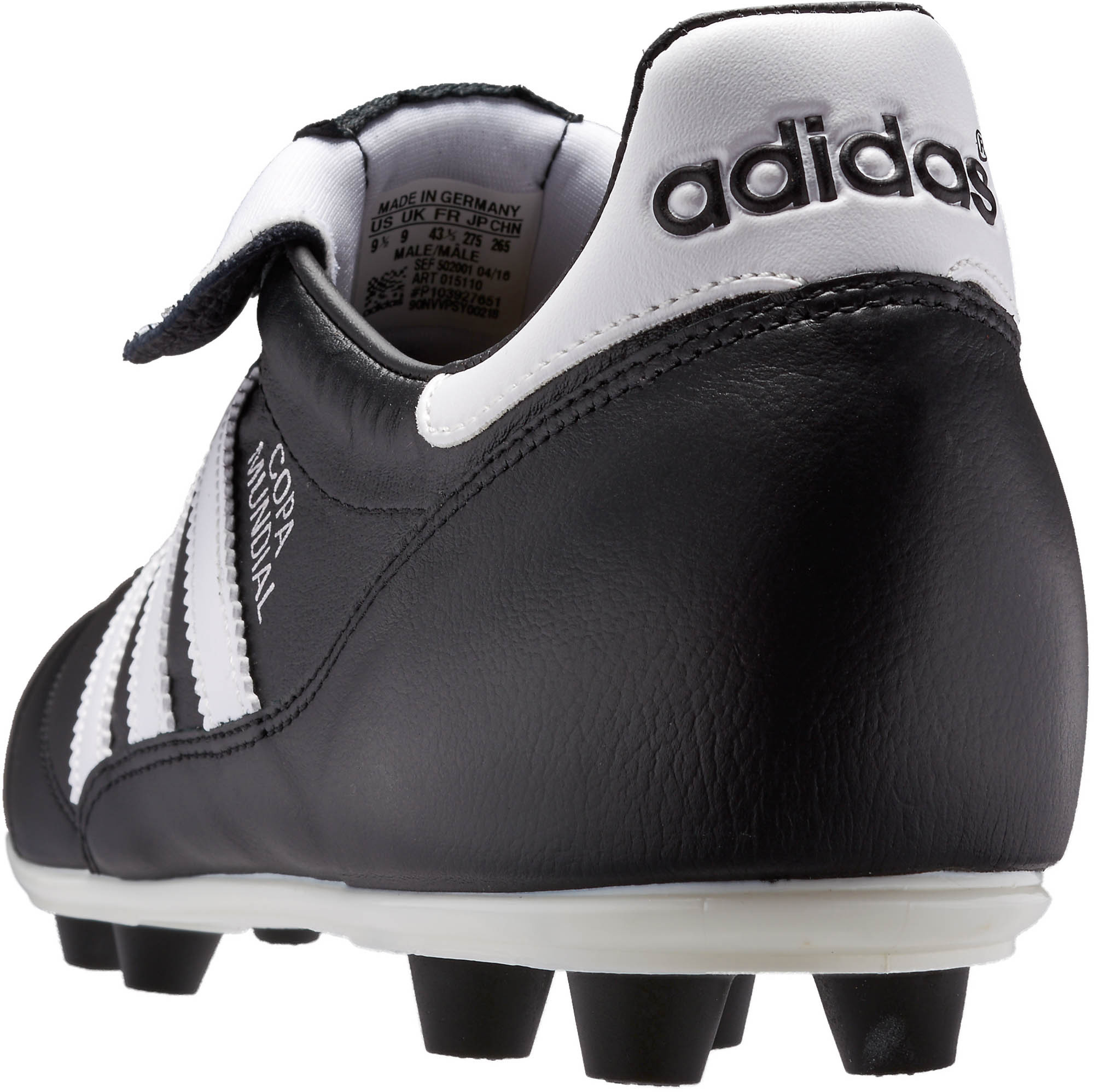 1eded293b adidas Copa Mundial - Black with White - Soccer Master