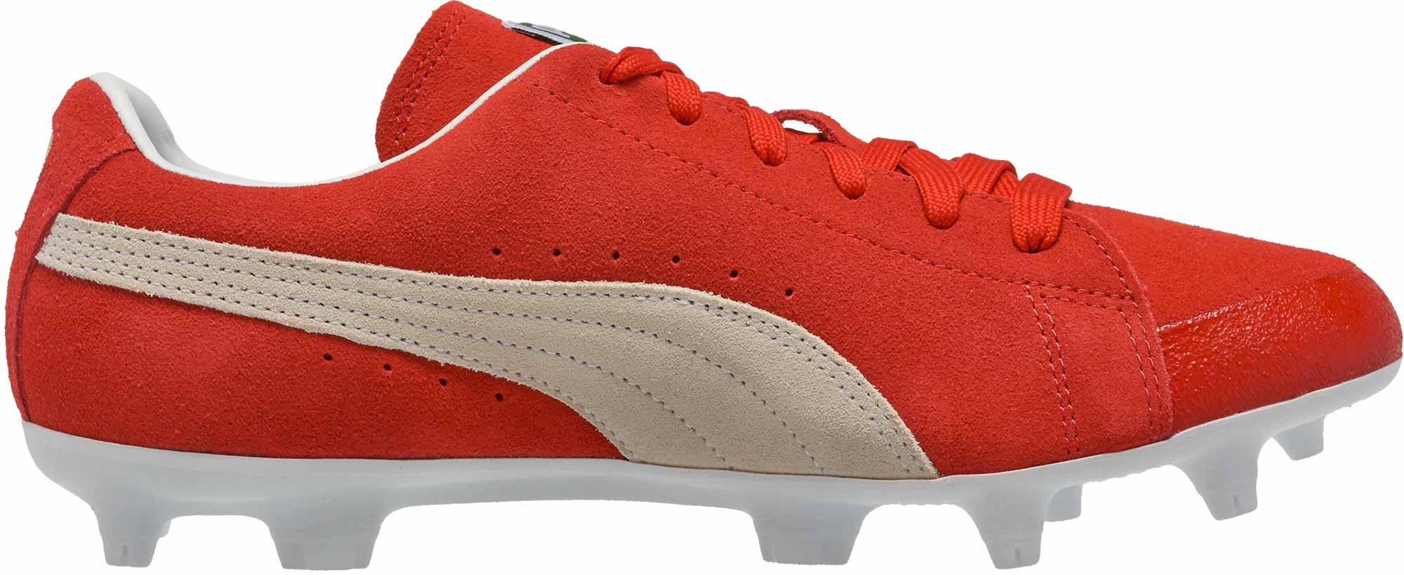 online store eba90 bd442 Puma Future Suede FG - 50th Anniversary - Red & White - Soccer Master