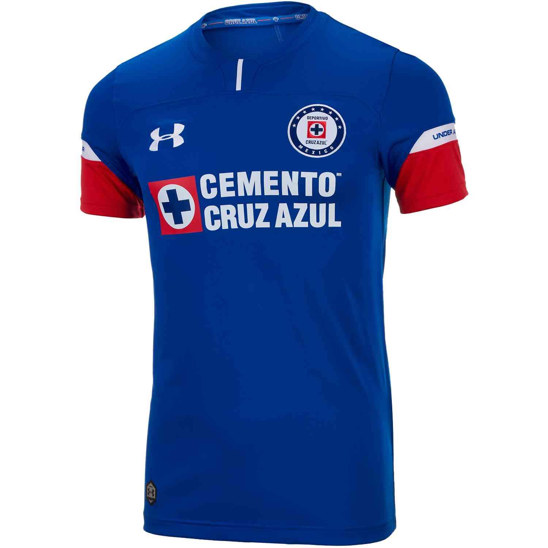 23f46cfa5c7 Under Armour Cruz Azul Home Jersey 2018-19 - Soccer Master