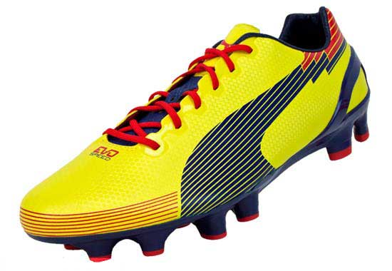 Puma evoSPEED 1 Graphic FG Soccer Cleats Blazing Yellow with Blue - Soccer  Master a643bfd9d