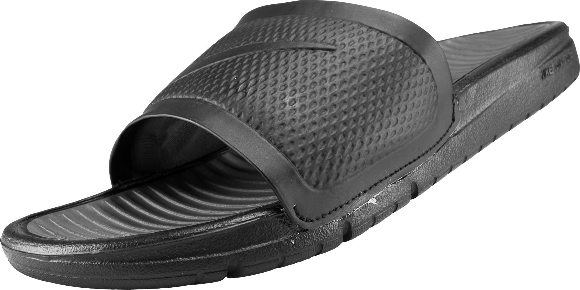 Nike Benassi Solarsoft Slide - Black - Soccer Master f068a2008d98