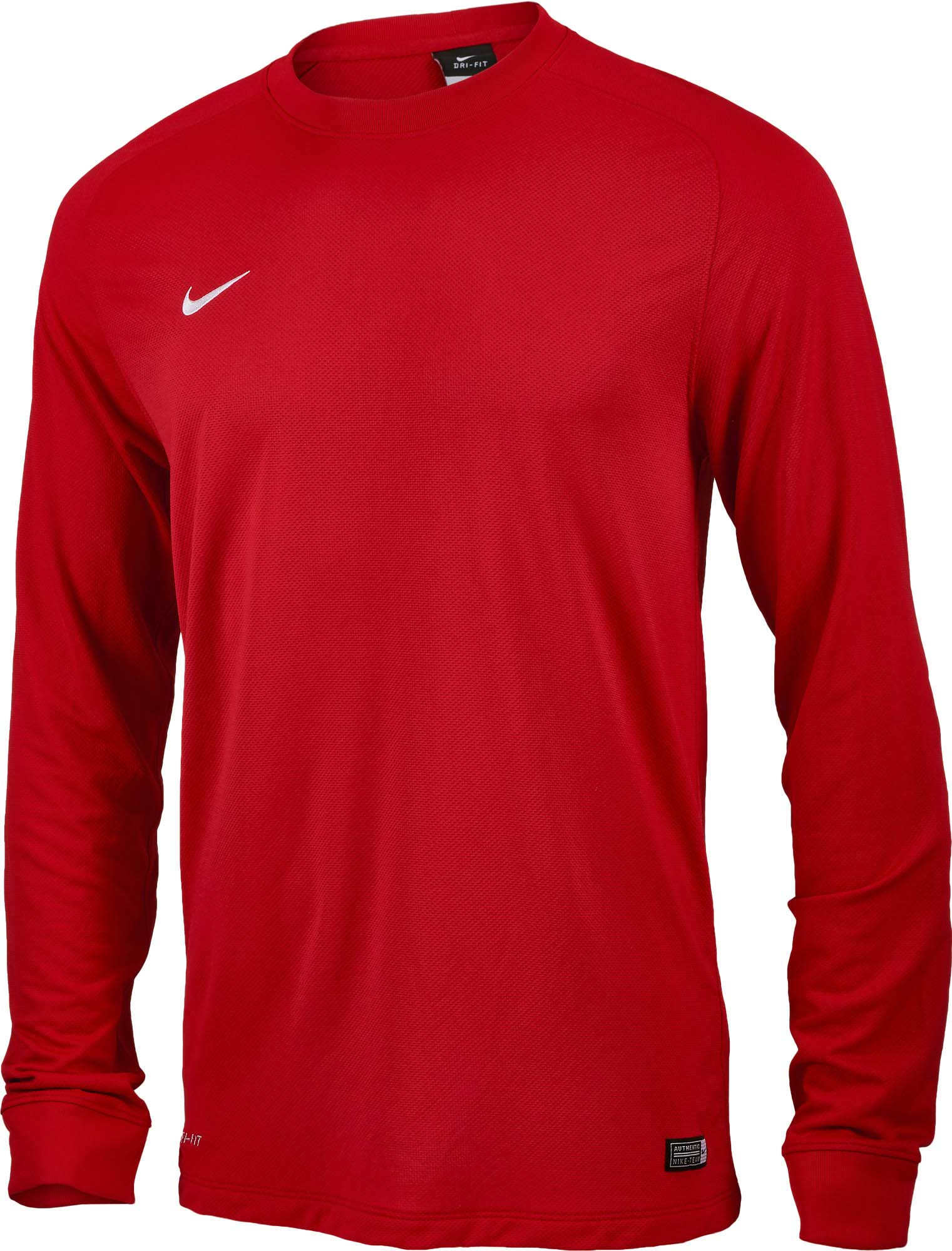 27ac8df37 Nike Park II Goalkeeper Jersey - Red - Soccer Master