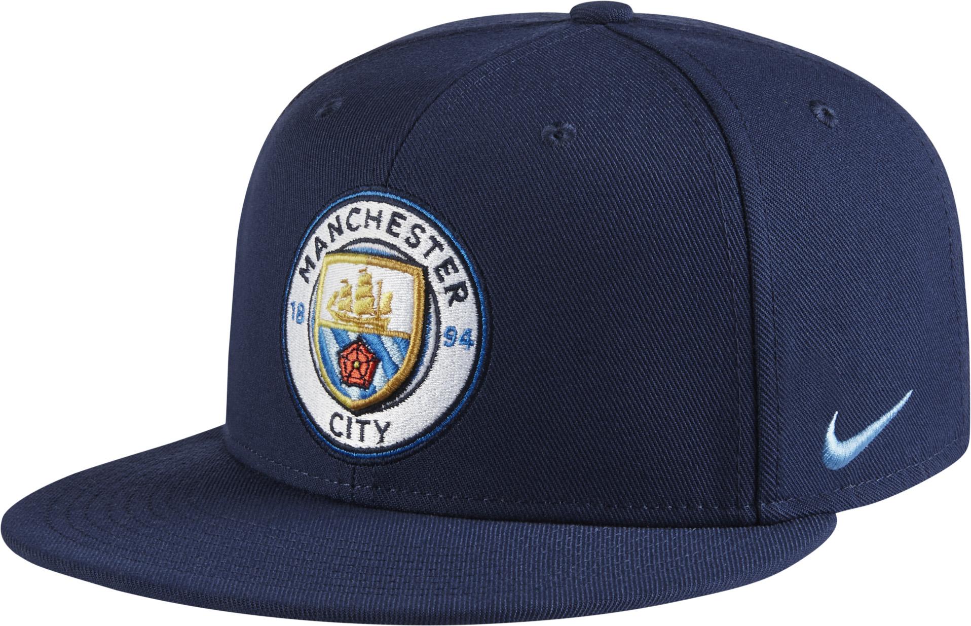 54e26956993 Nike Manchester City True Hat - Midnight Navy   Field Blue - Soccer ...