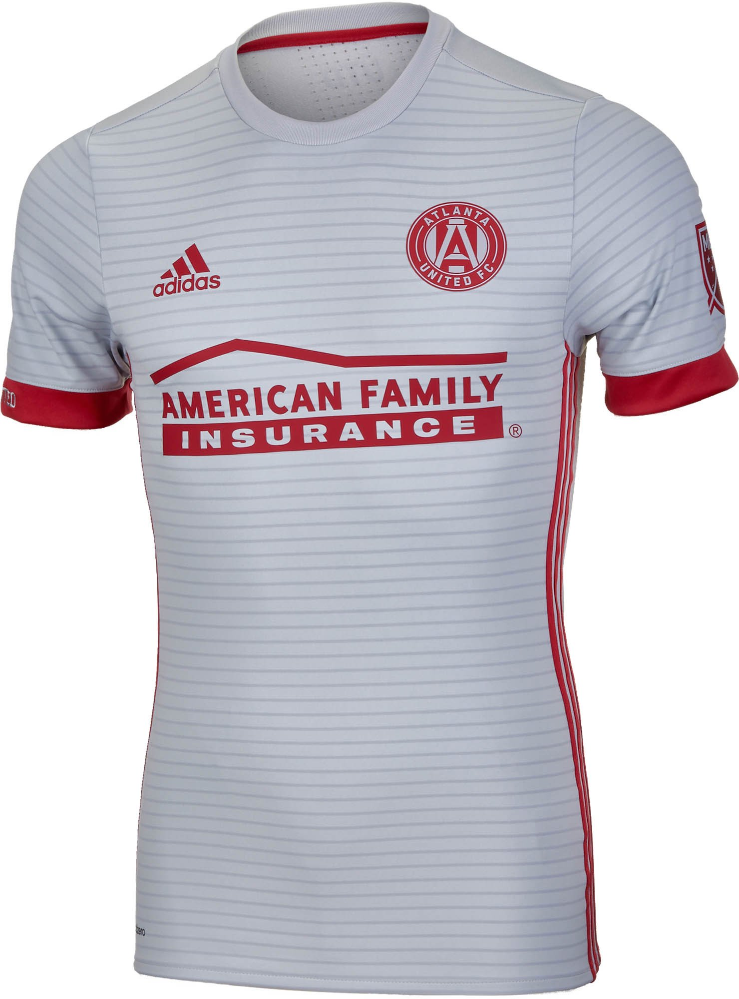 best service 679e7 ac2c4 2017/18 adidas Atlanta United Authentic Away Jersey