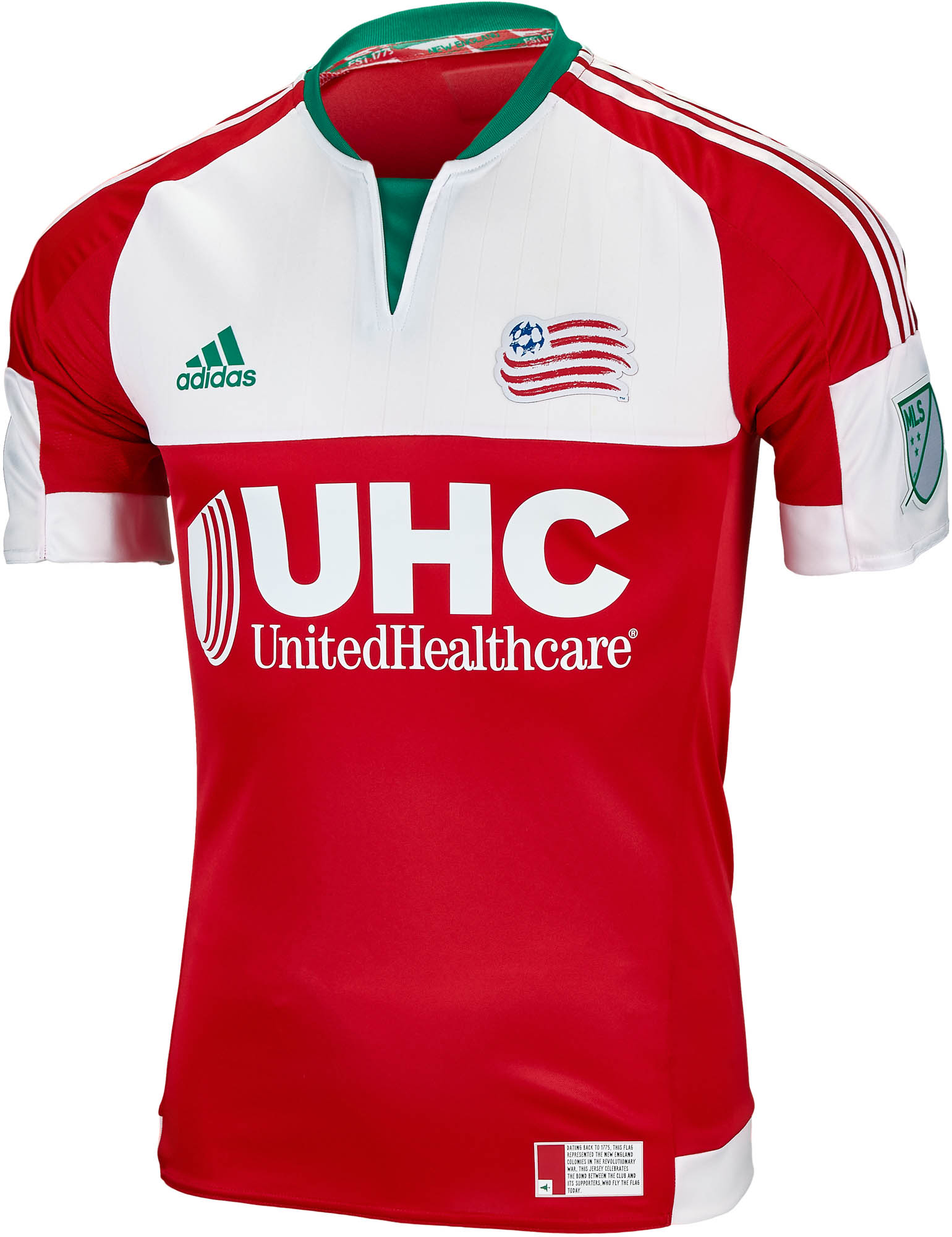 889f84b74d7 adidas New England Revolution Authentic Away Jersey 2016 - Soccer ...