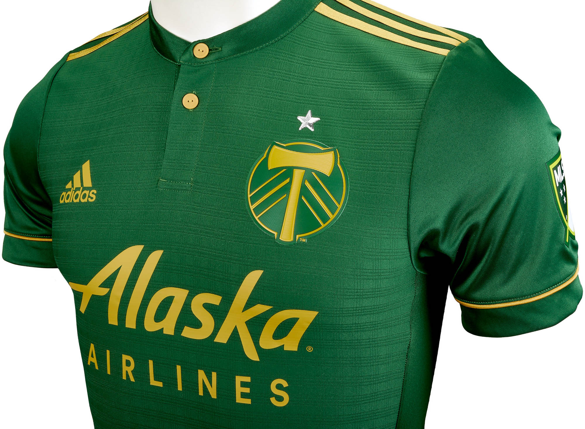 adidas Portland Timbers Authentic Home Jersey 2017-18 - Soccer ... 6349b8cc8