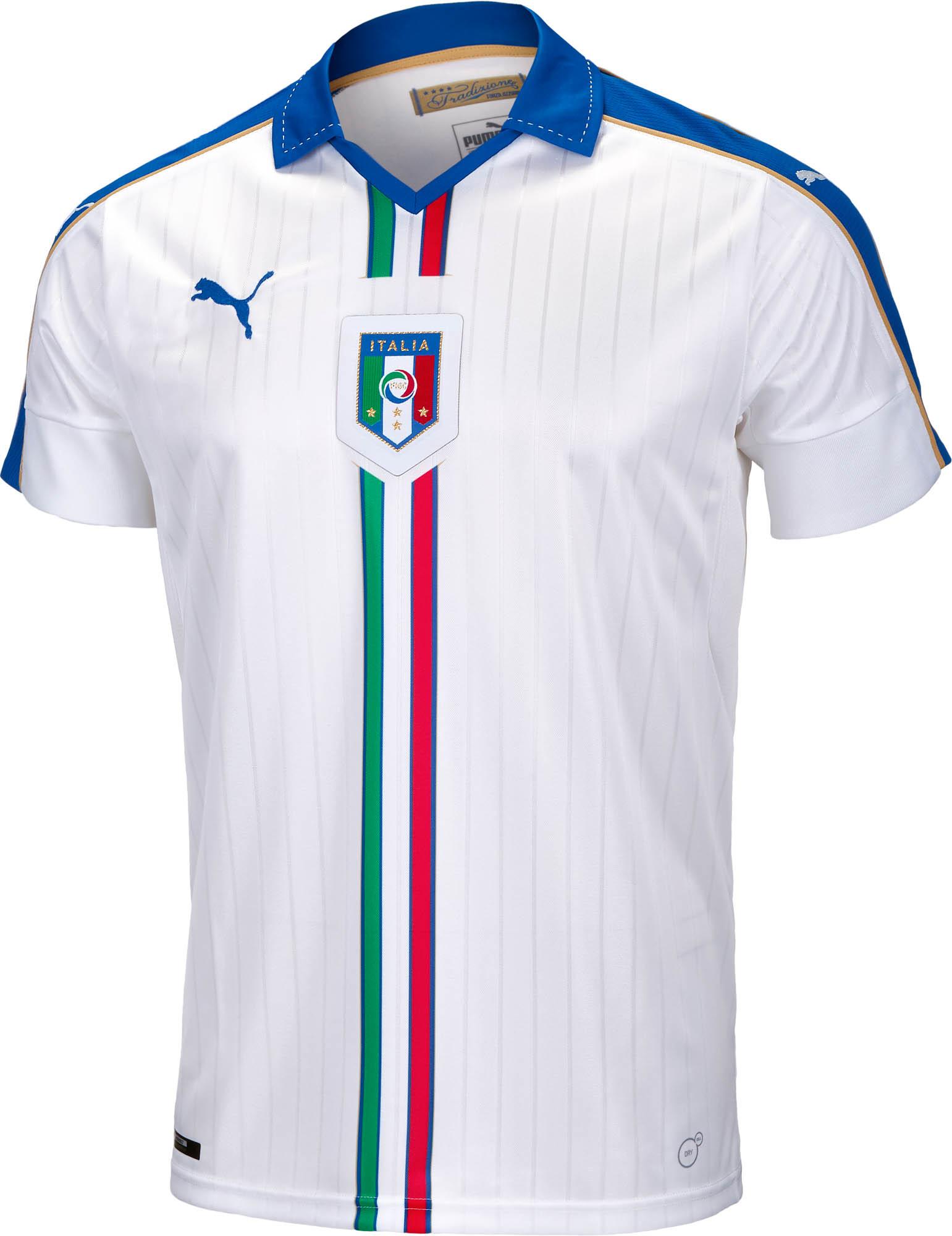 5c913b38e PUMA Italy Away Jersey 2015 - Soccer Master