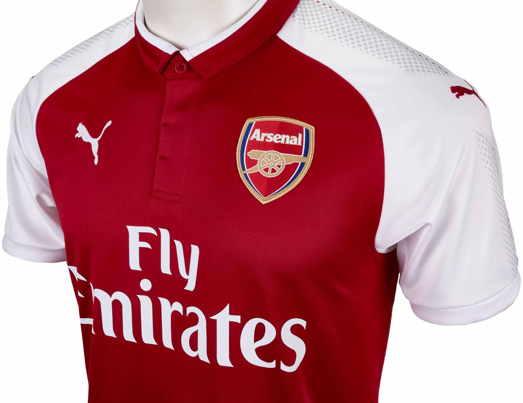 innovative design 77c83 db92d Puma Kids Arsenal Home Jersey 2017-18 - Soccer Master
