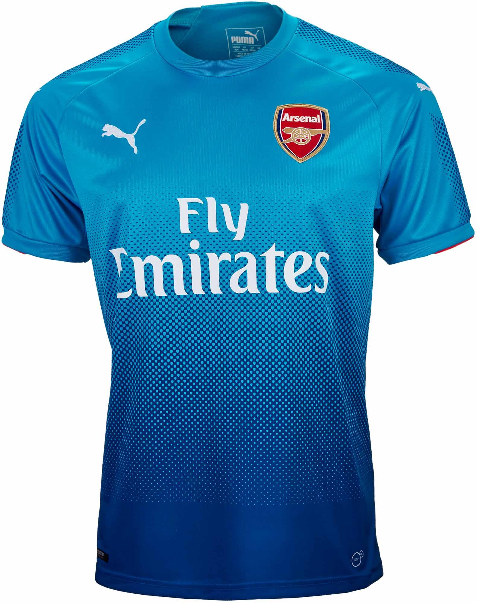 cbe3bff72 Puma Kids Arsenal Away Jersey 2017-18 - Soccer Master