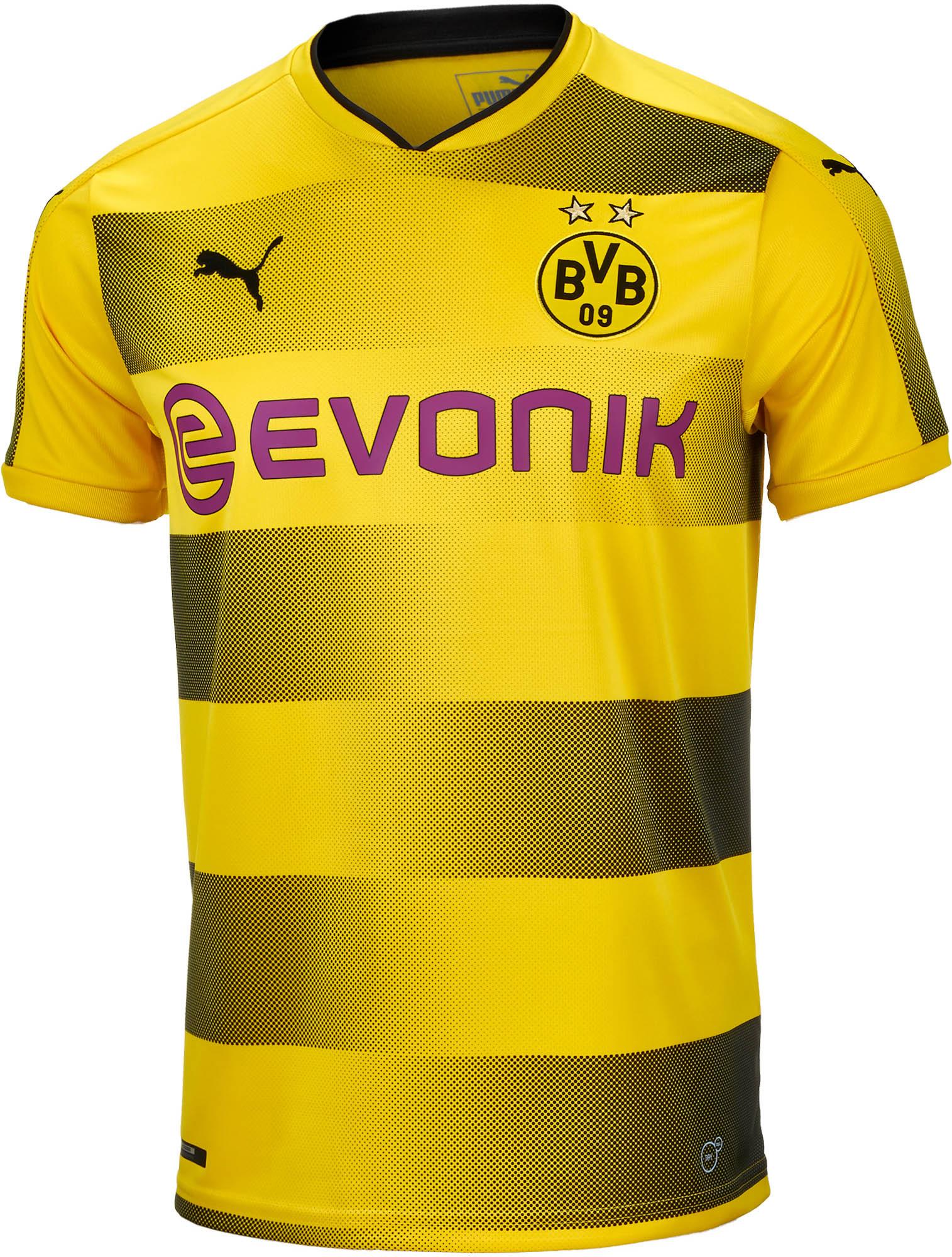 ca7a0f507 Puma Borussia Dortmund Home Jersey 2017-18 - Soccer Master