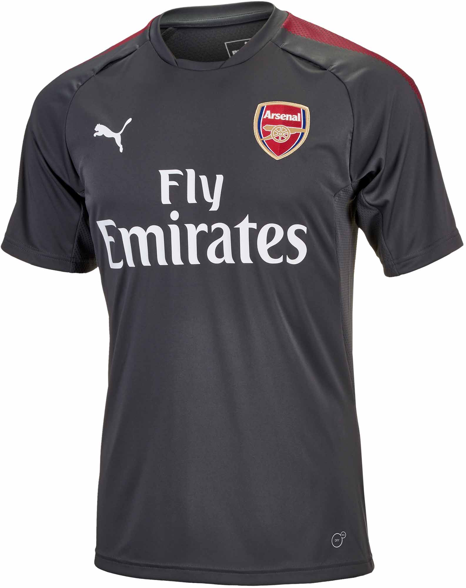 9f0ddc961 Puma Arsenal Training Jersey - Dark Shadow - Soccer Master