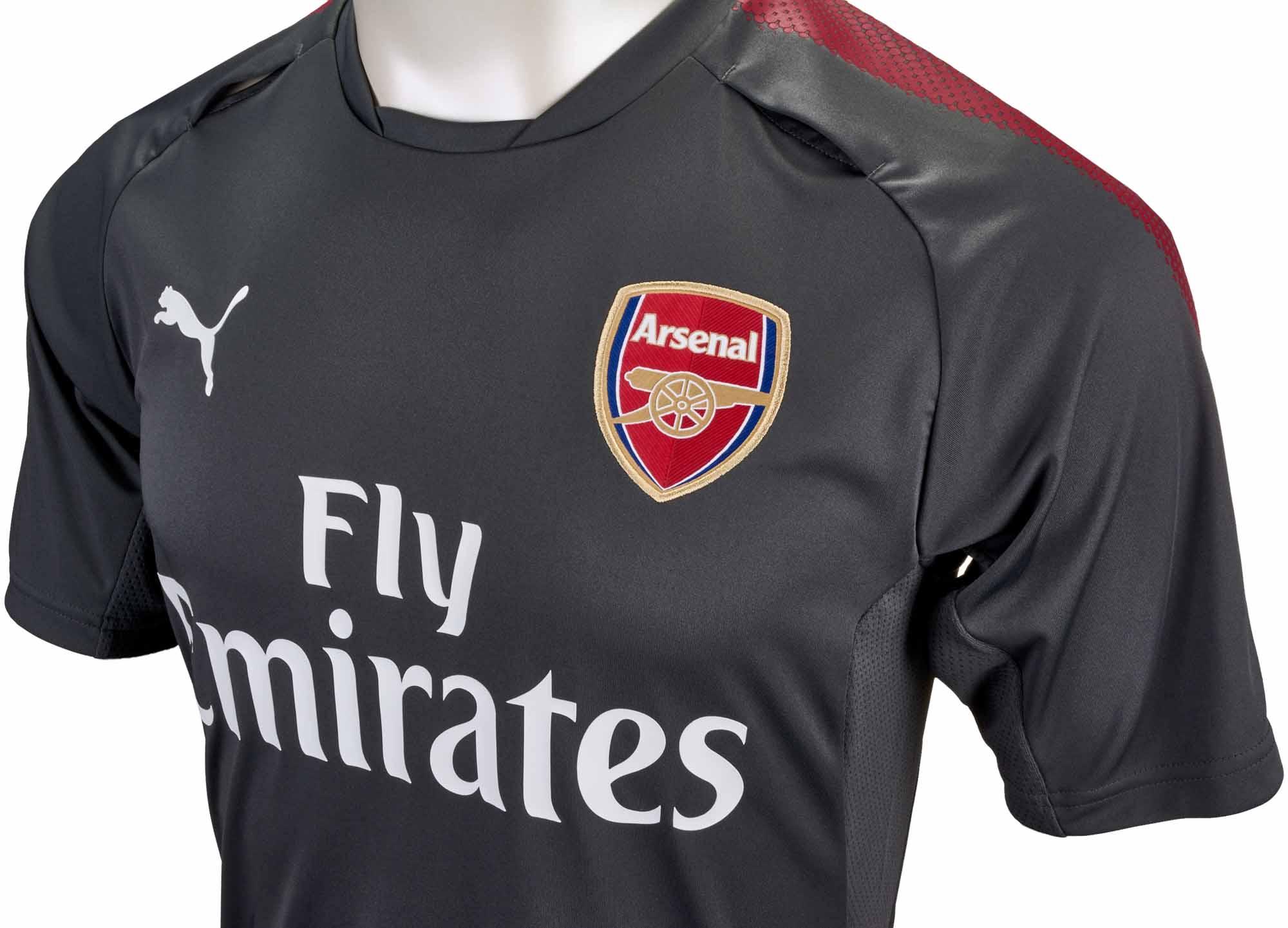 Puma Arsenal Training Jersey - Dark Shadow - Soccer Master aecc2097c