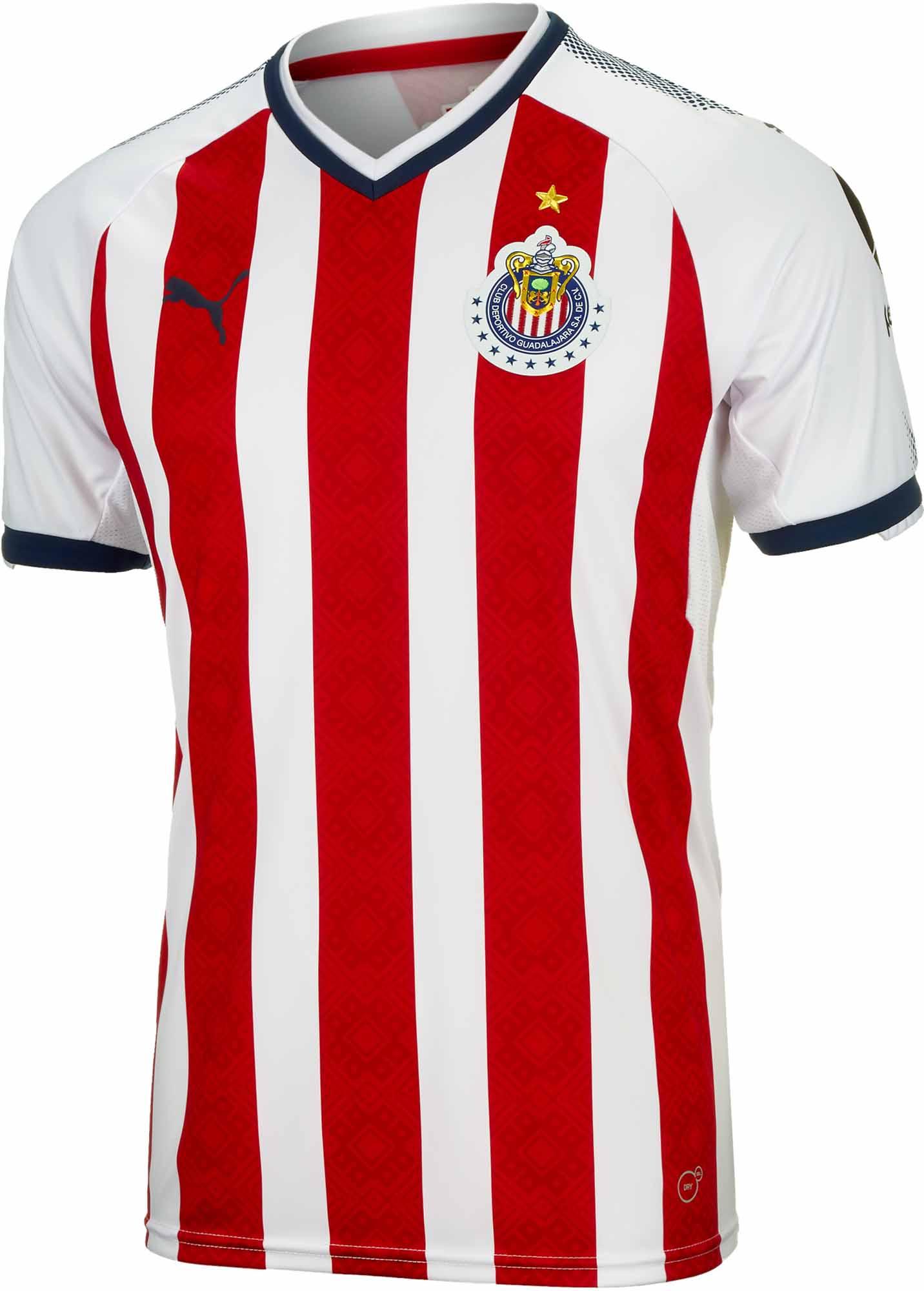 abfc7bbc9 Puma Chivas Home Jersey 2017-18 - Soccer Master
