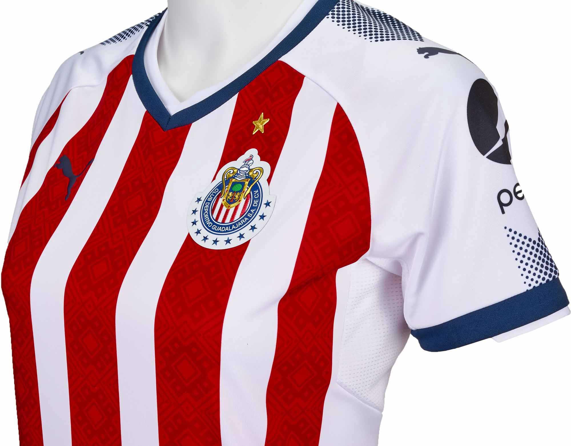 5923a4f0d 2017 18 Puma Womens Chivas Home Jersey - Soccer Master