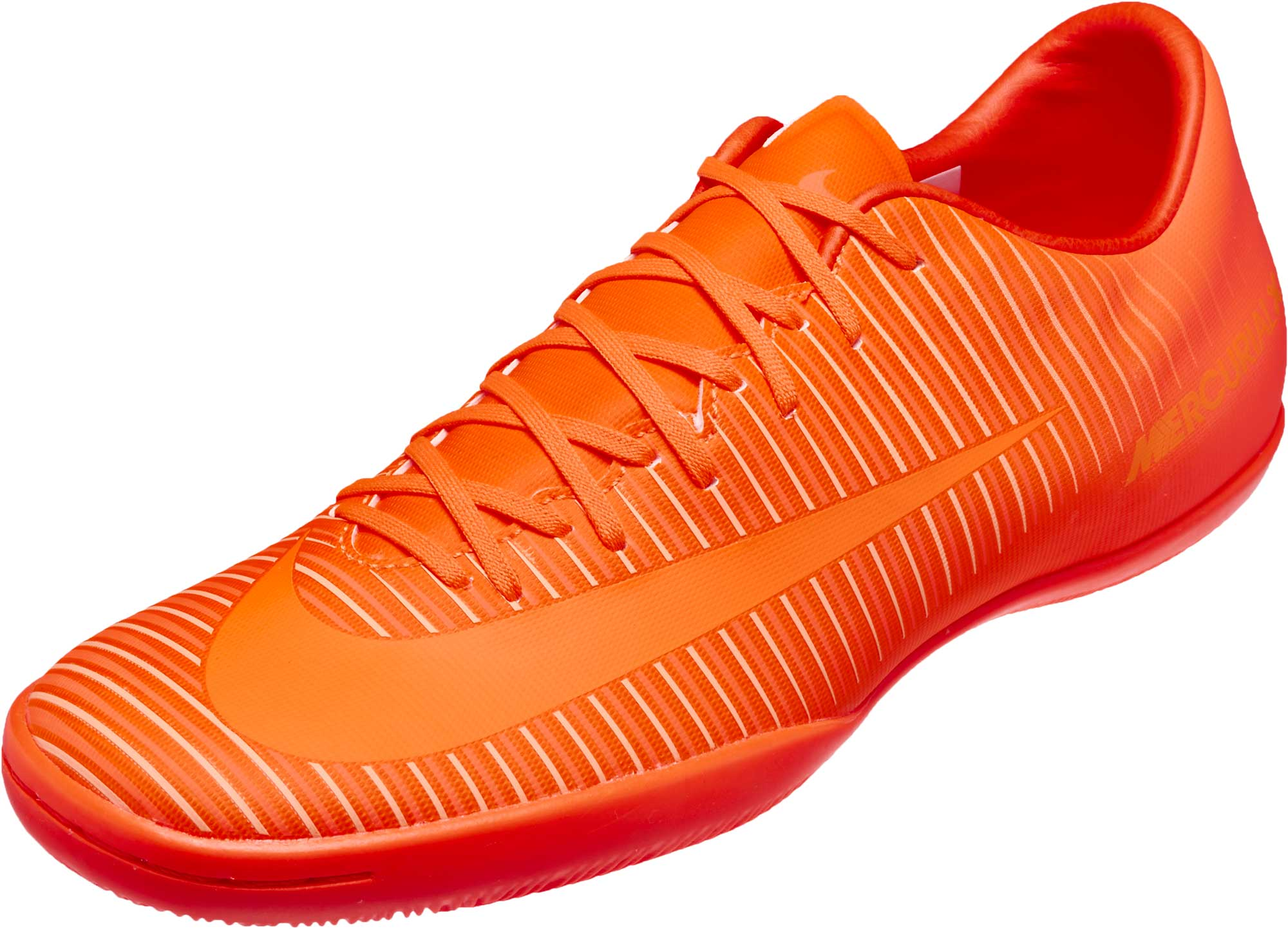 Nike Mercurial Victory VI IC Soccer Shoes – Total Orange   Hyper Crimson 3e093d3ad4d