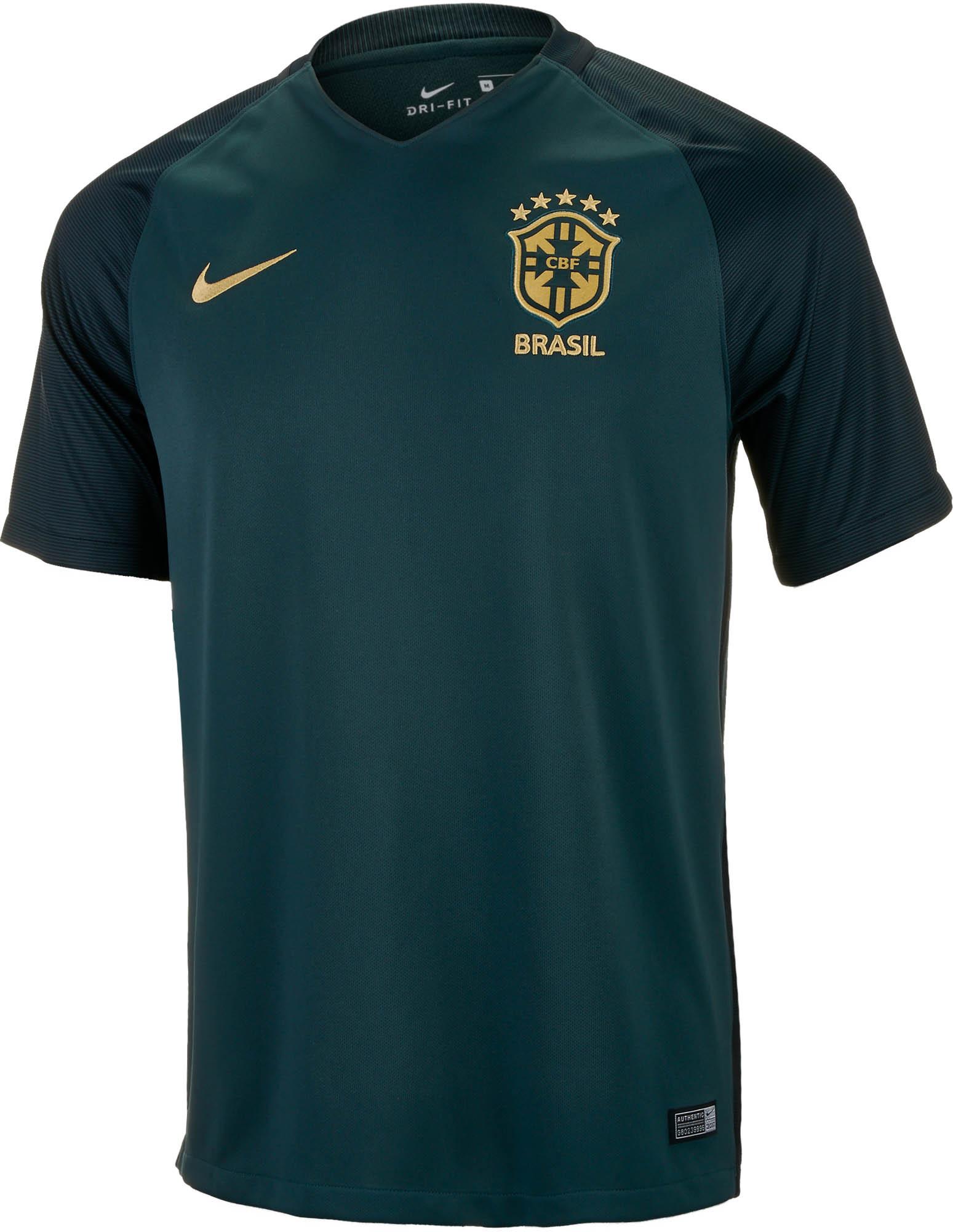 Nike Brazil 3rd Jersey 2017-18 - Soccer Master
