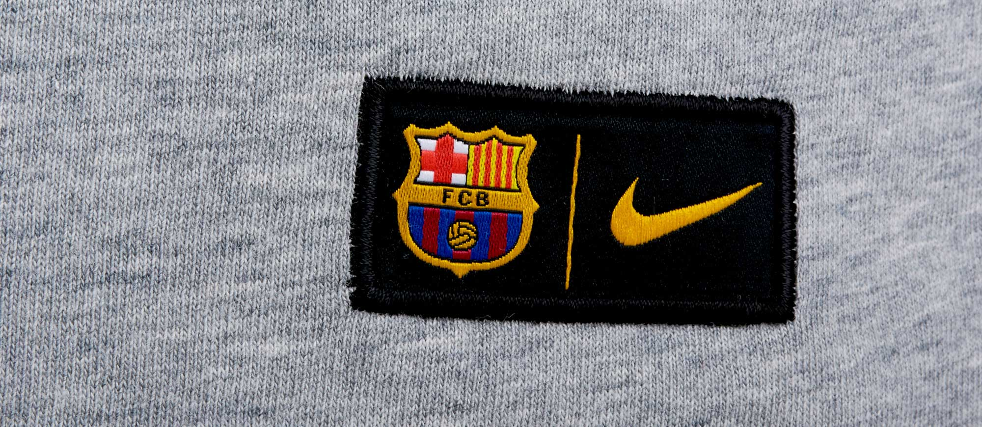 a113945b822a1 Nike Barcelona Crest Tee - Dark Grey Heather & Game Royal - Soccer ...
