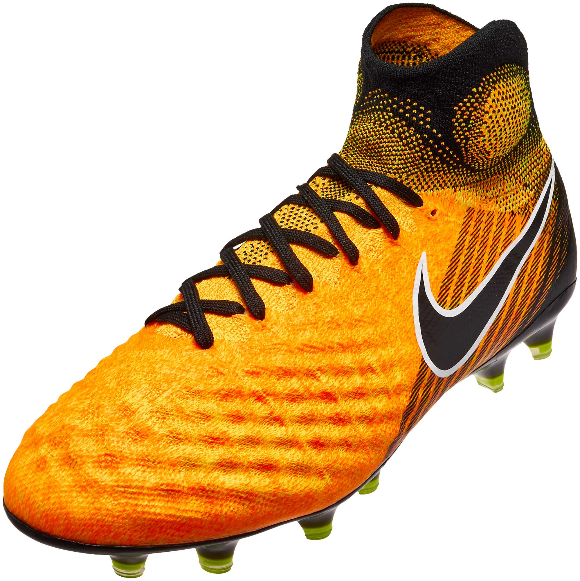 4def116e1fd4 Nike Magista Obra II FG Soccer Cleats - Laser Orange   Black ...