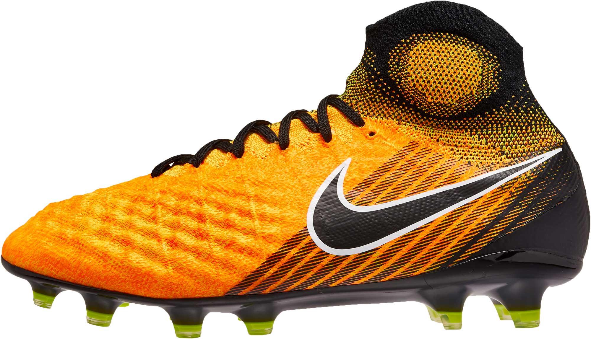 finest selection 3b09a 8e578 Nike Magista Obra II FG Soccer Cleats - Laser Orange   Black ...