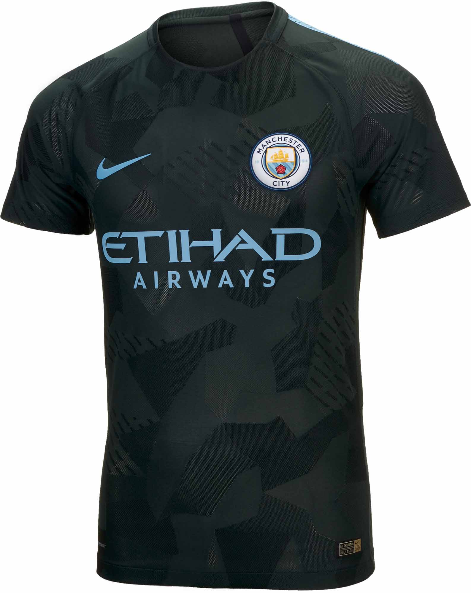 Nike Manchester City 3rd Match Jersey 2017-18 NS - Soccer ...