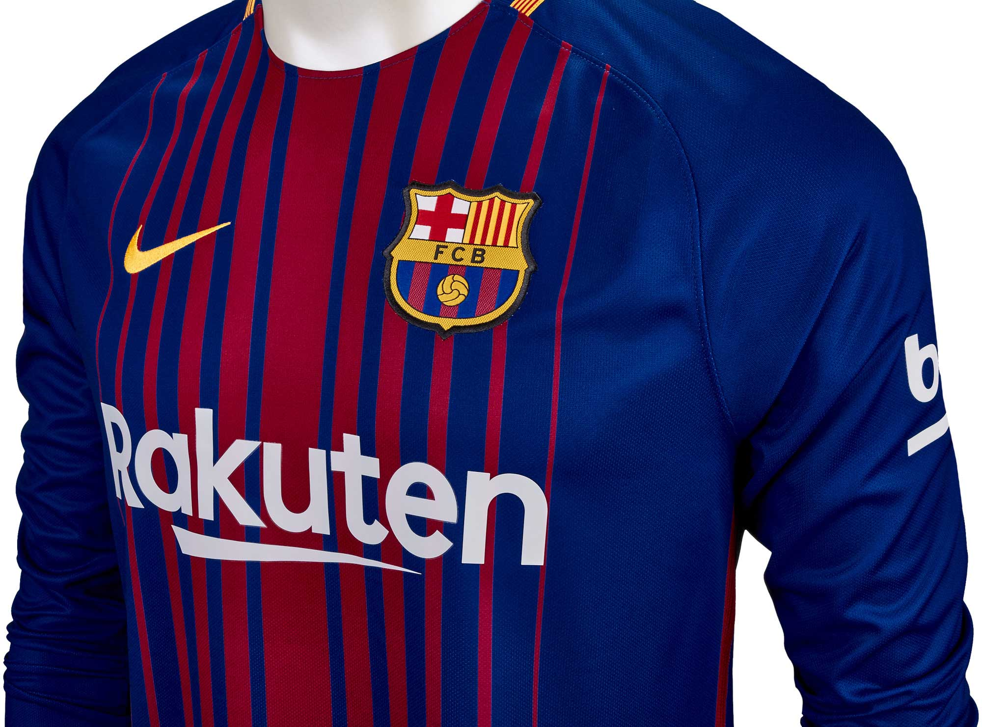 ad24796cc Nike Barcelona Home L S Jersey 2017-18 - Soccer Master