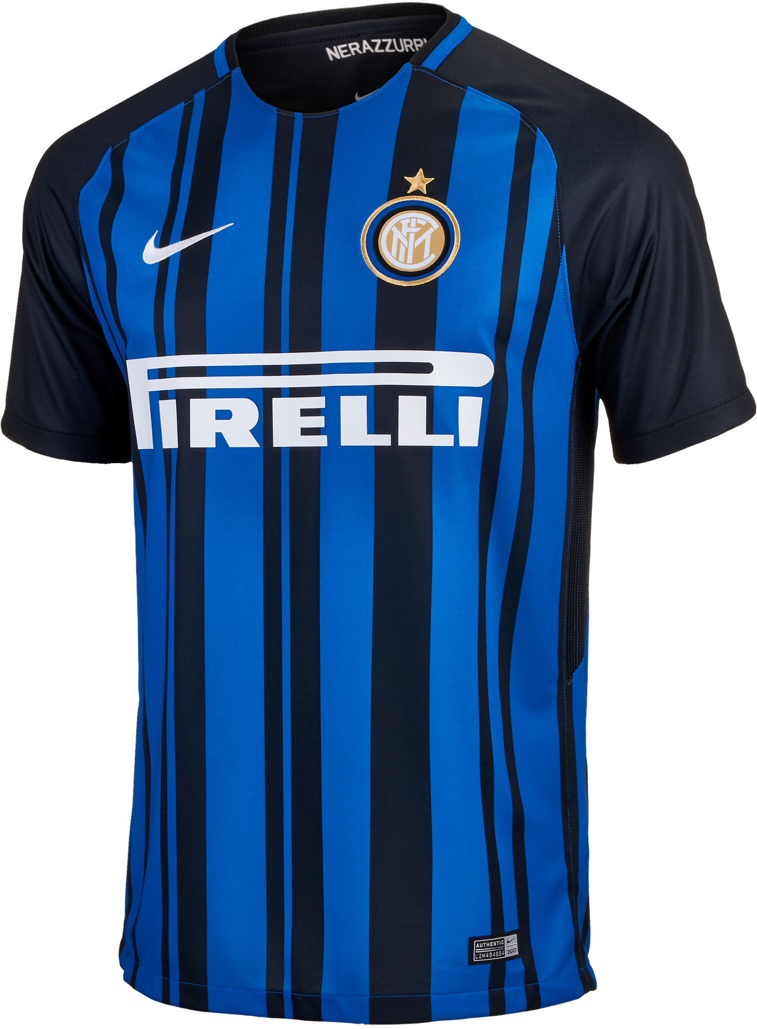 best loved 8a70a 6f390 Nike Inter Milan Home Jersey 2017-18 - Soccer Master