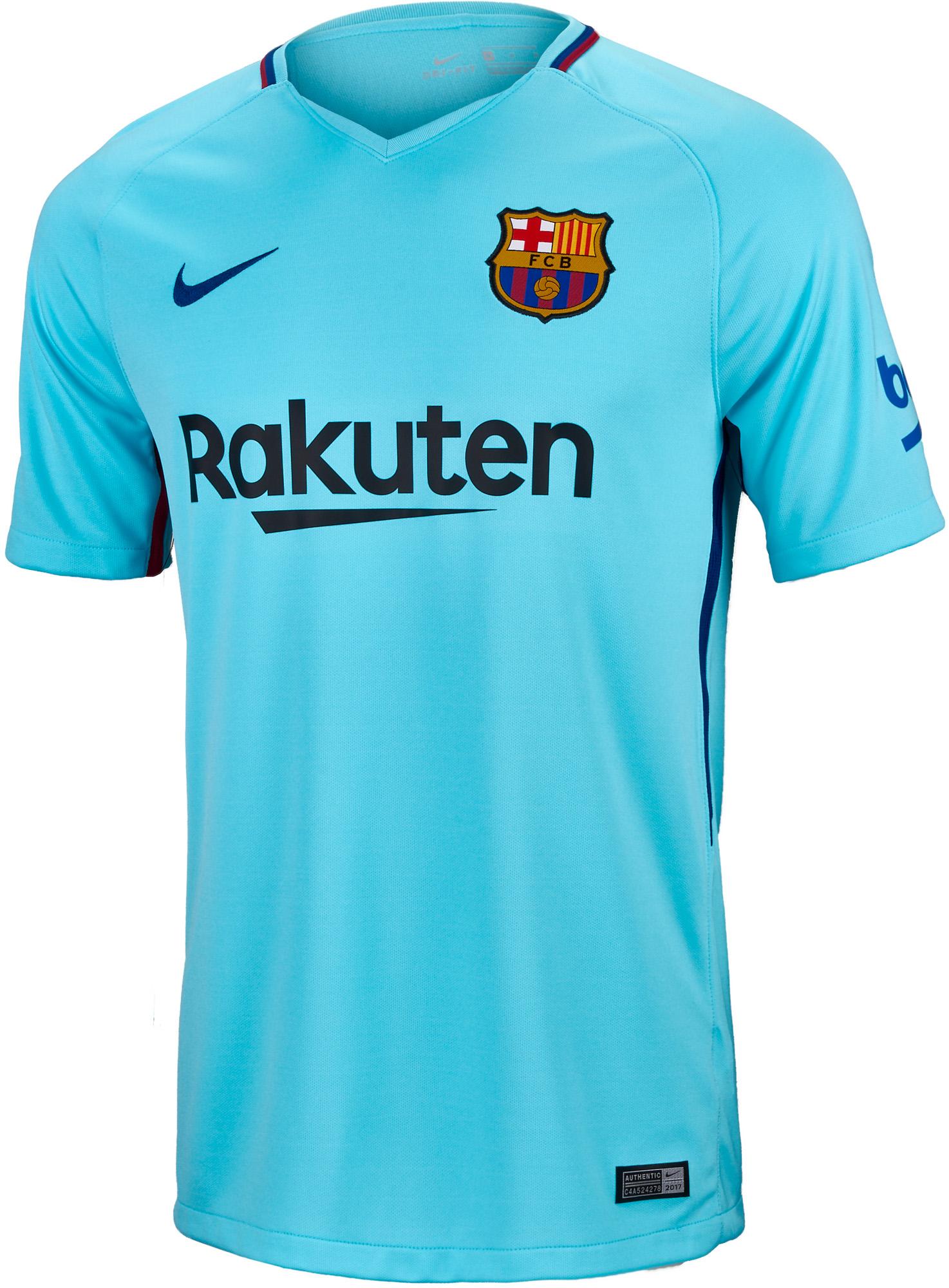 info for 44f20 0acb0 Nike Kids Barcelona Away Jersey 2017-18 NS