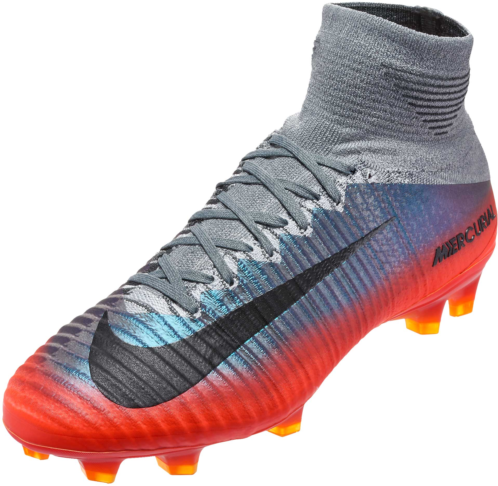 info for a0566 01482 Nike Mercurial Superfly V FG Soccer Cleats - CR7 - Cool Grey ...