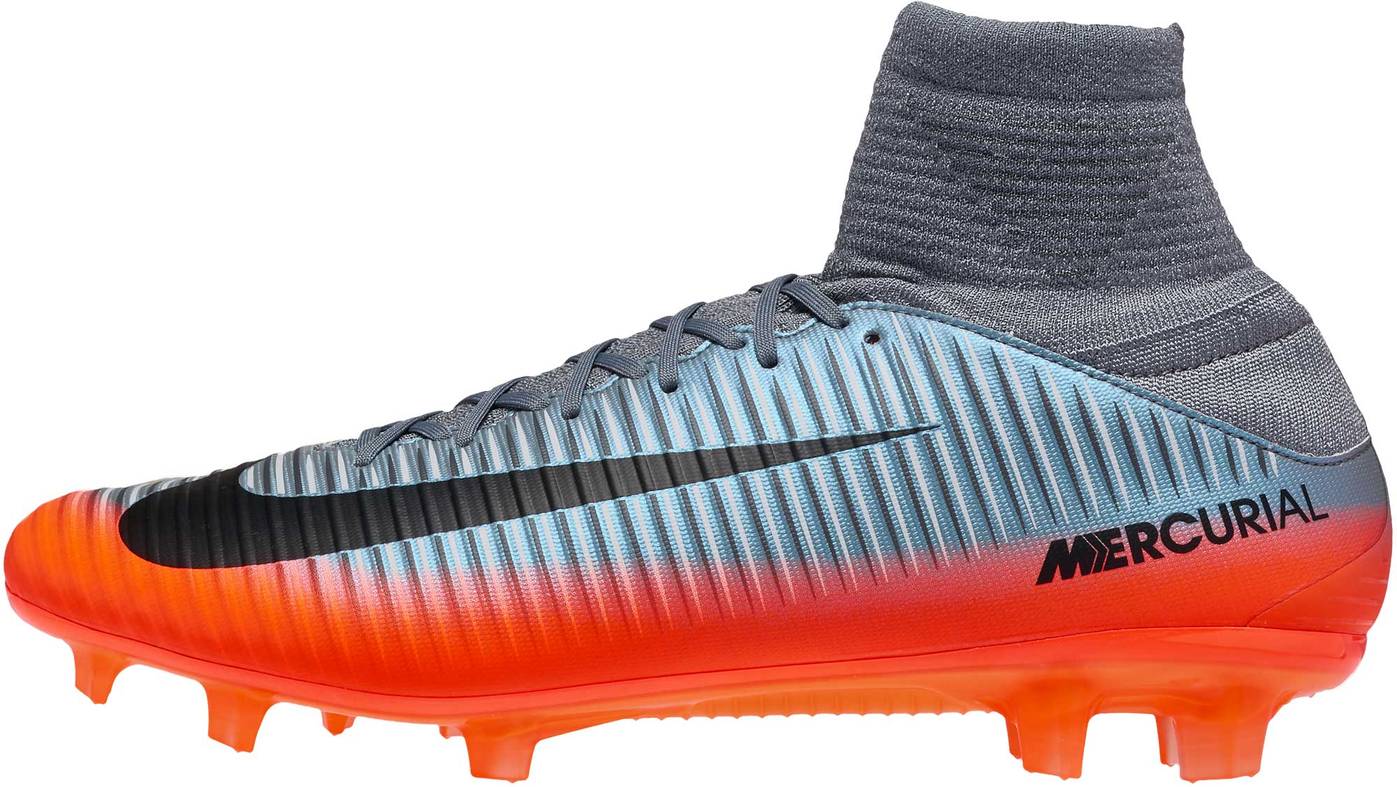 182793f11257 Nike Mercurial Veloce III DF FG Soccer Cleats - CR7 - Cool Grey ...