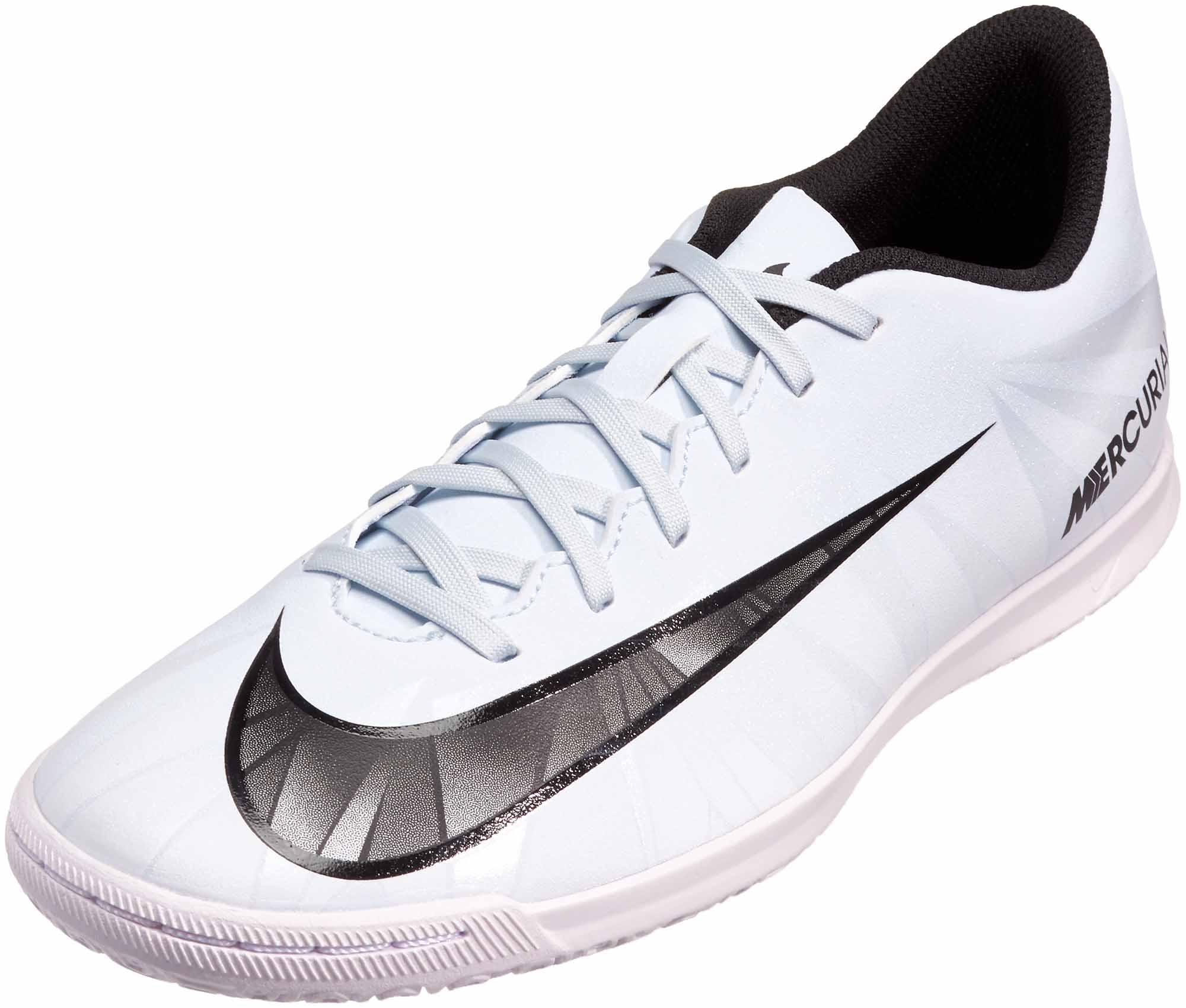 4fc40d5a5f47 Nike MercurialX Vortex III IC - CR7 - Blue Tint   Black - Soccer Master