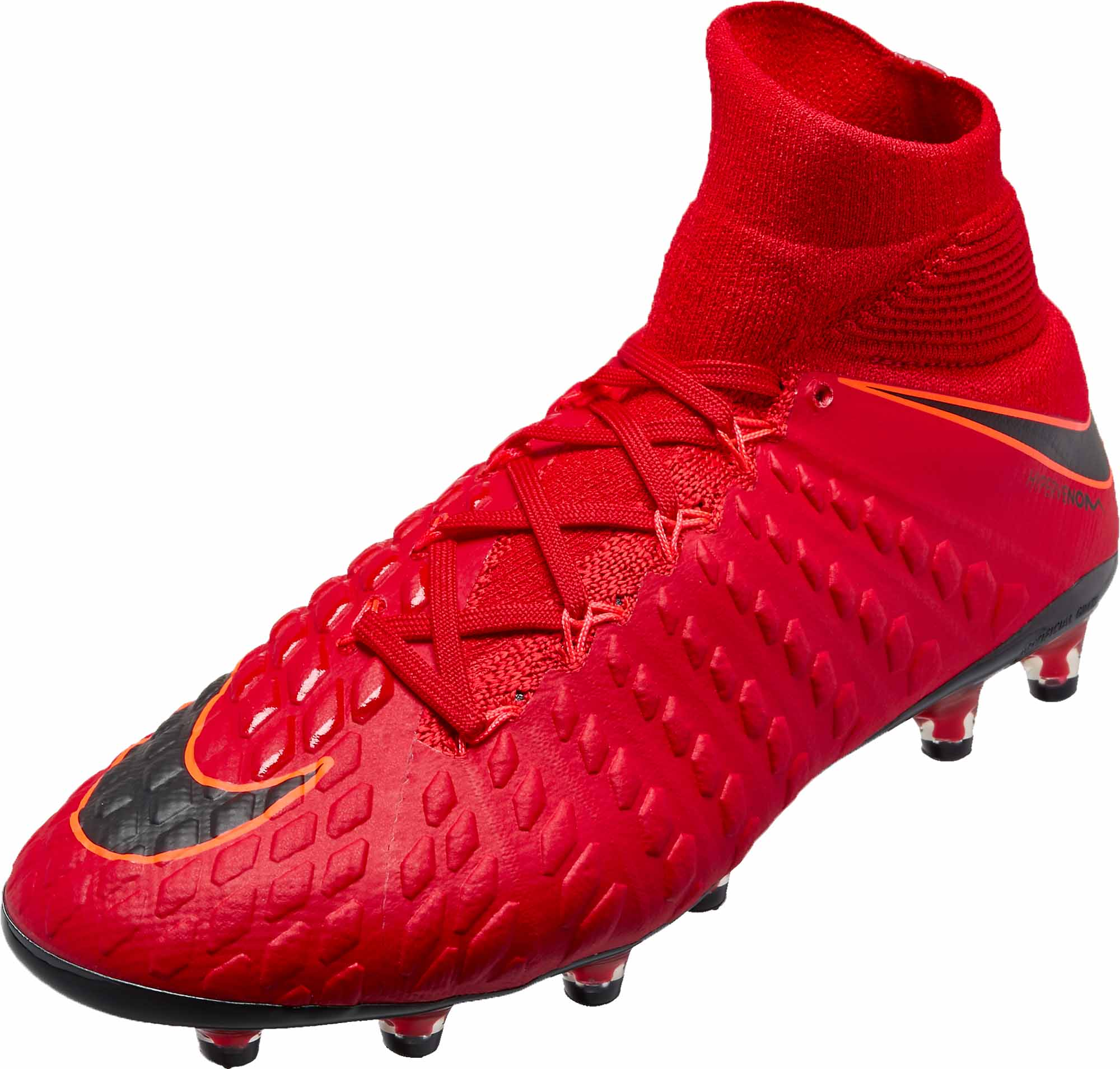 100% high quality low price footwear Nike Hypervenom Phantom III DF AG-Pro - University Red ...