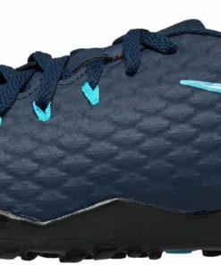 5a94ace2f5f08 Nike Kids HypervenomX Phelon III TF - Obsidian & White - Soccer Master