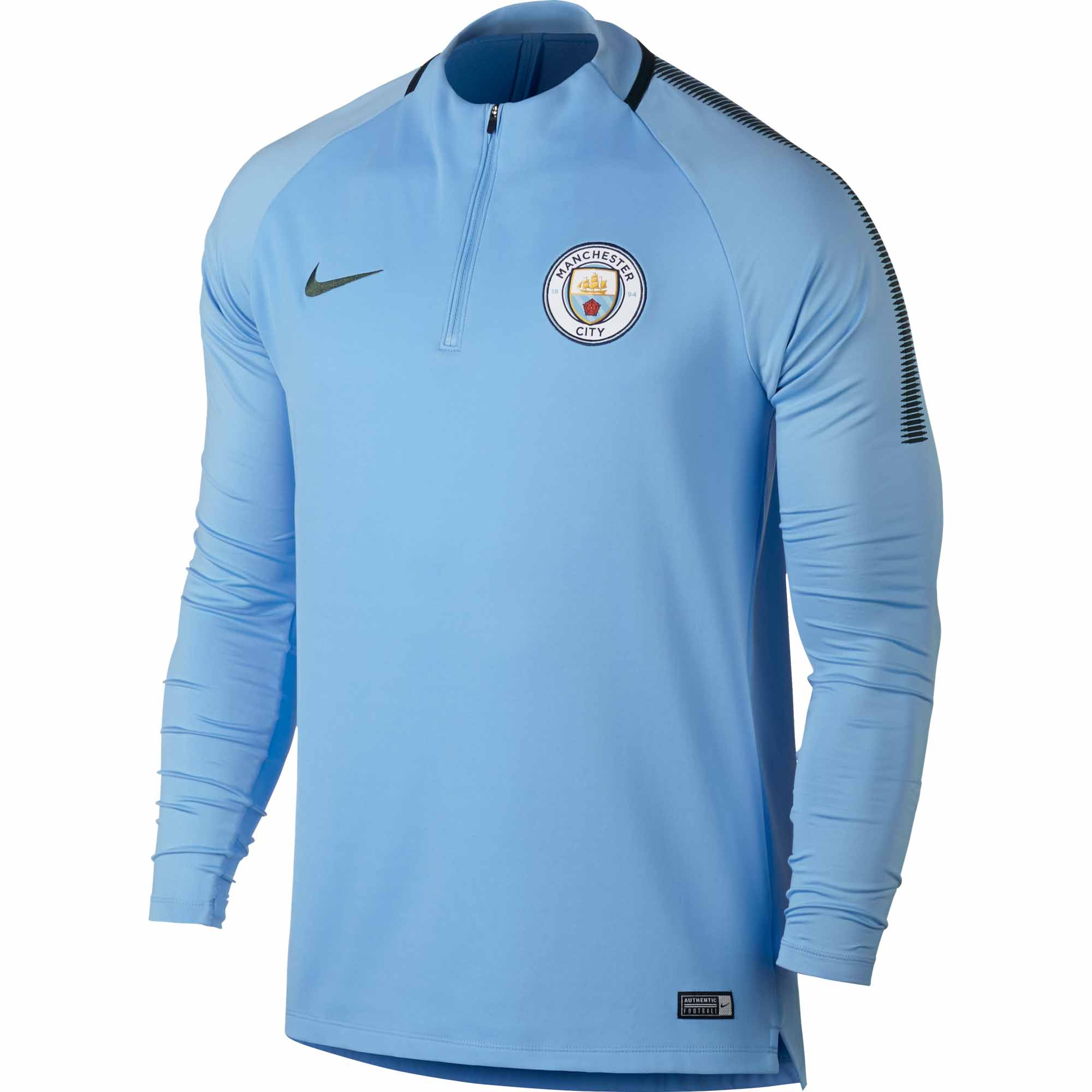 c28cb105653a Nike Manchester City Drill Top - Field Blue   Outdoor Green - Soccer ...