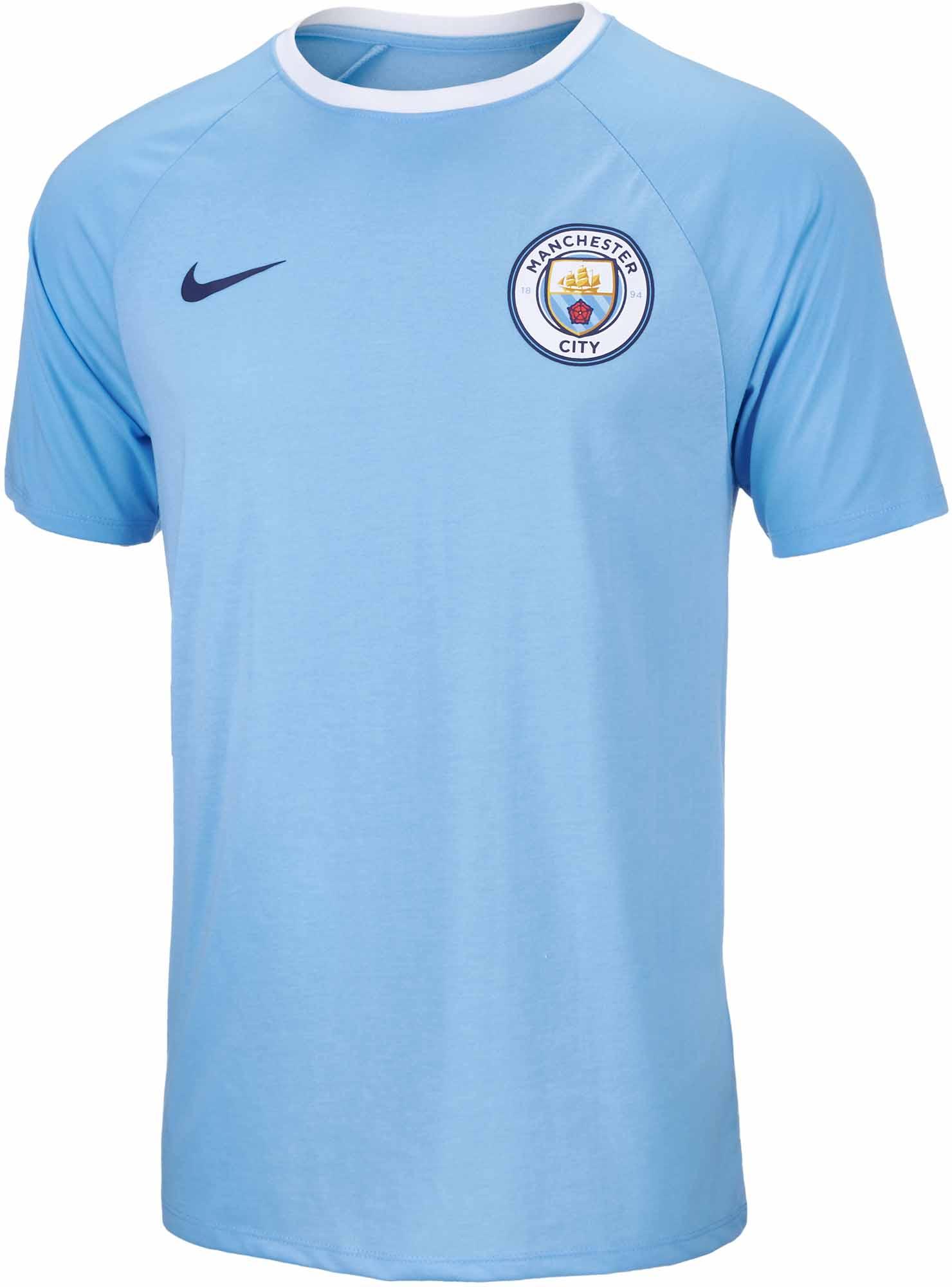 online store 477e7 5eba6 Nike Manchester City Match Tee – Field Blue   White