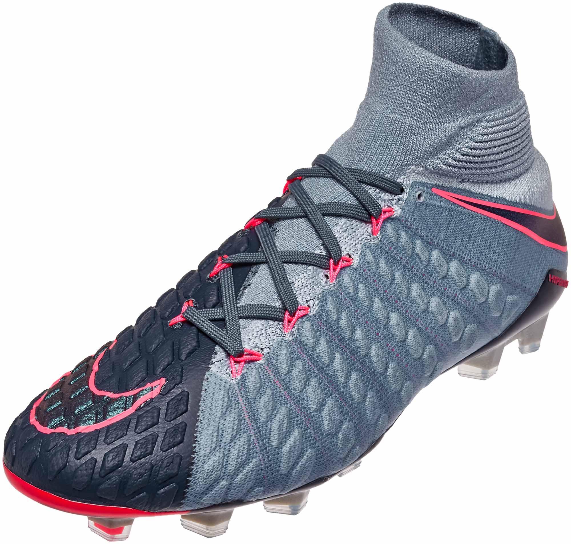 outlet store b5d19 26940 Nike Hypervenom Phantom III DF FG Soccer Cleats - Light ...