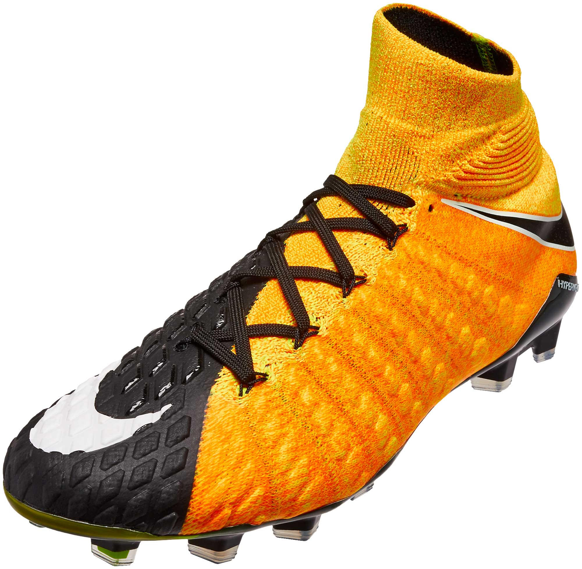 Nike Hypervenom Phantom III DF FG - Laser Orange   Black - Soccer ... 037764bbeddb