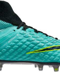 29c5c79a369c Nike Womens Hypervenom Phantom III DF FG - Light Aqua & White - Soccer  Master