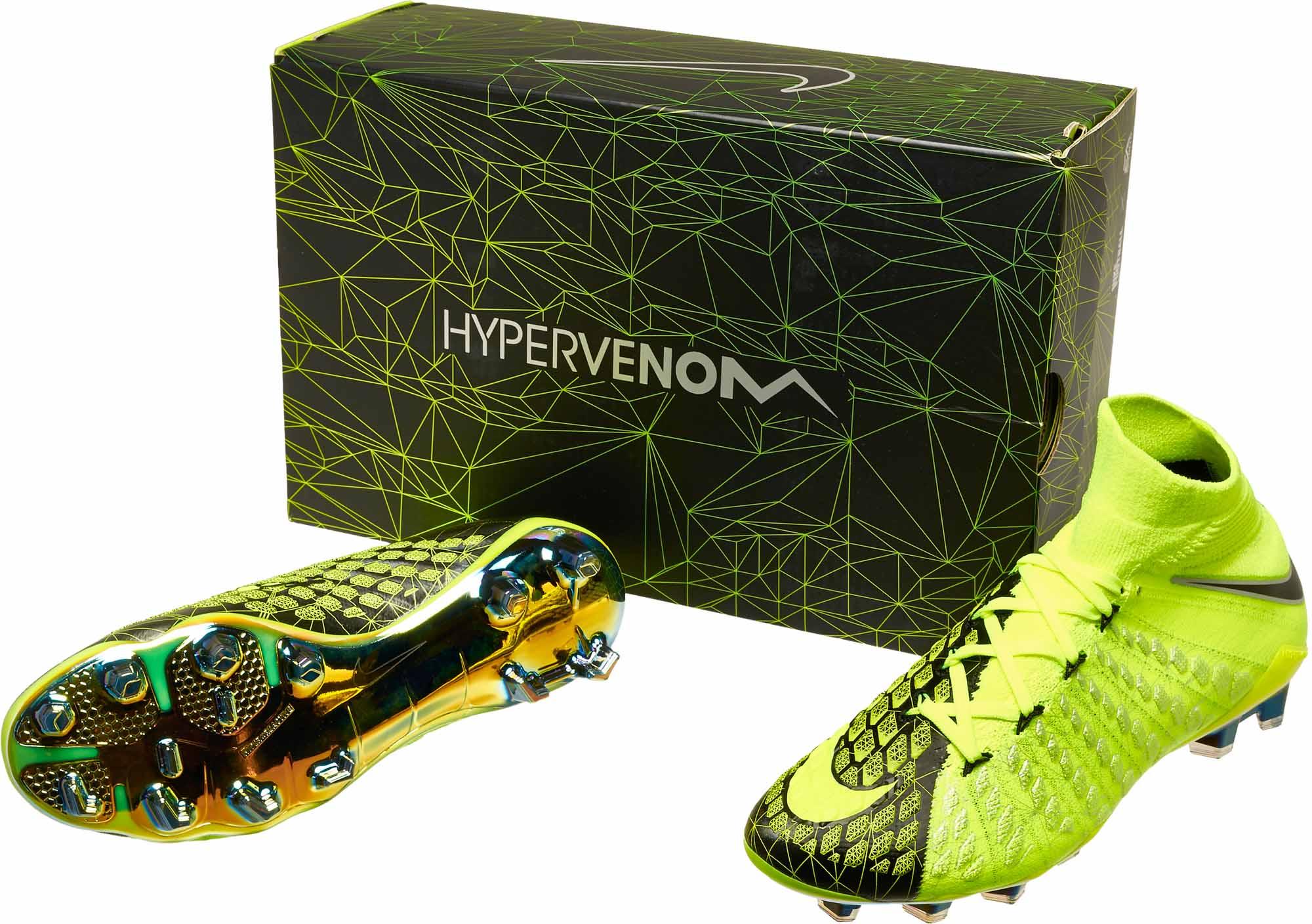 separation shoes 7fdd7 46d1d Nike Hypervenom Phantom III DF FG - EA Sports - Volt & Black ...