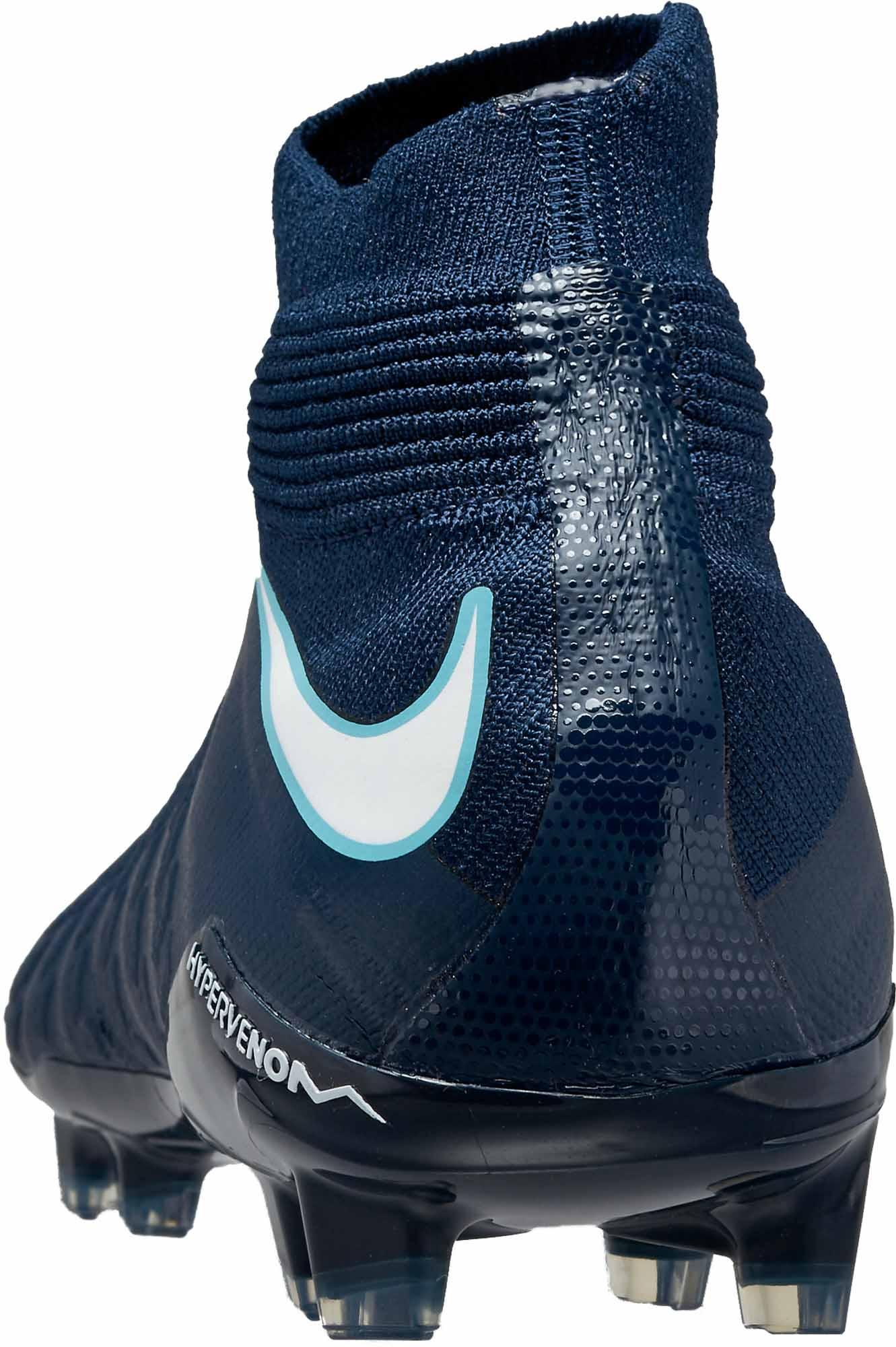 8474d54ba58 Nike Kids Hypervenom Phantom III FG - Obsidian   White - Soccer Master