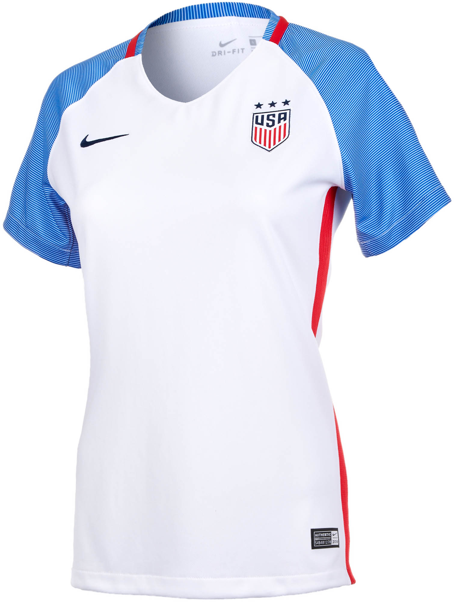 5eca005f8 2016 17 Womens Nike USA Home Jersey - Soccer Master