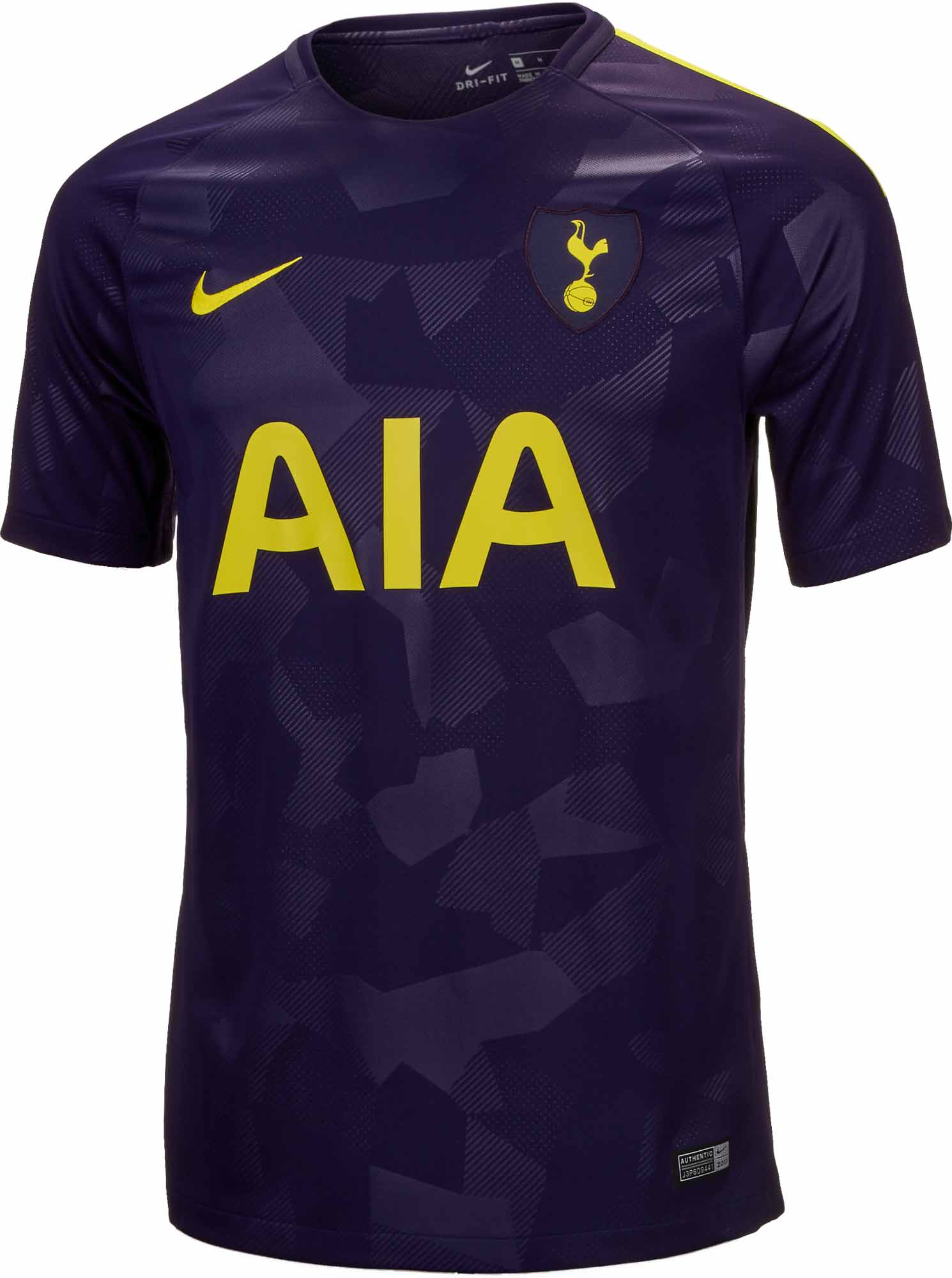competitive price 981ea 4955c Nike Tottenham 3rd Jersey 2017-18 - Soccer Master