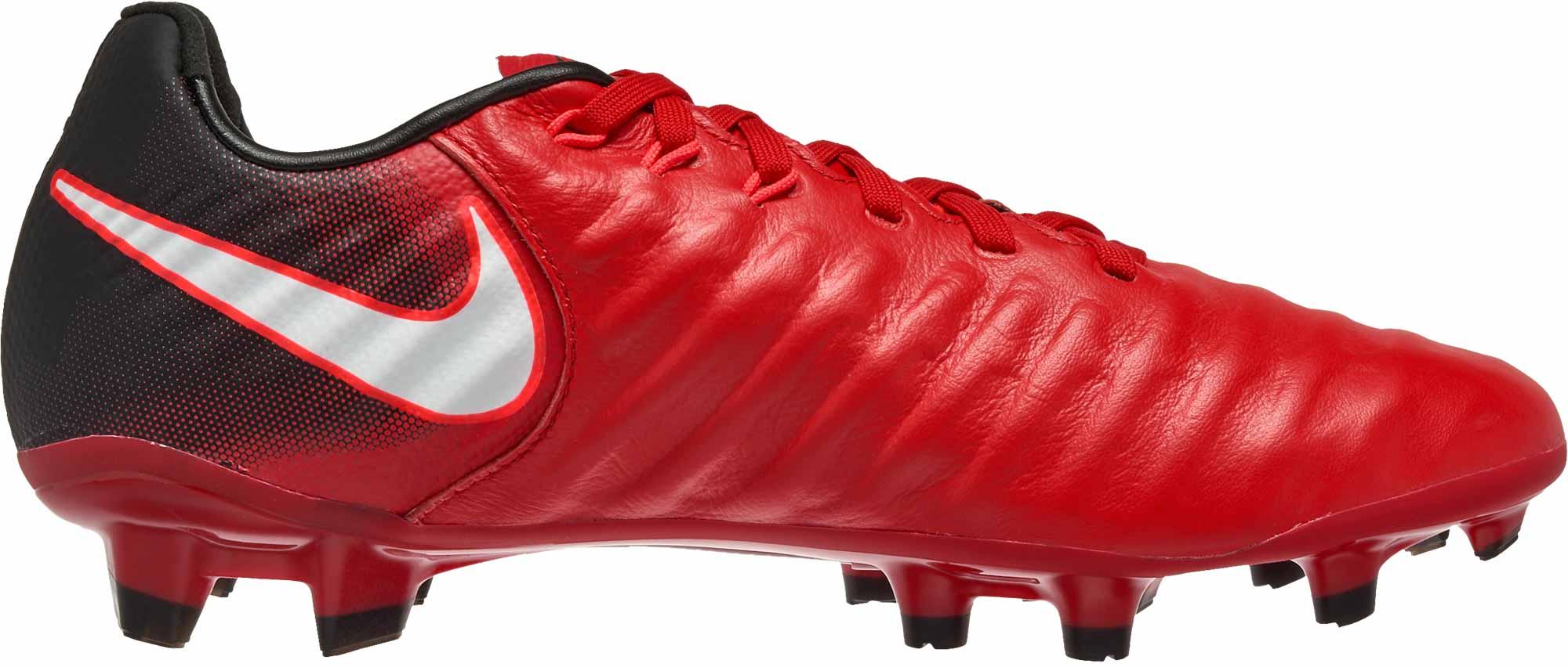 67a695627a2b Nike Kids Tiempo Legend VII FG - University Red & White - Soccer Master