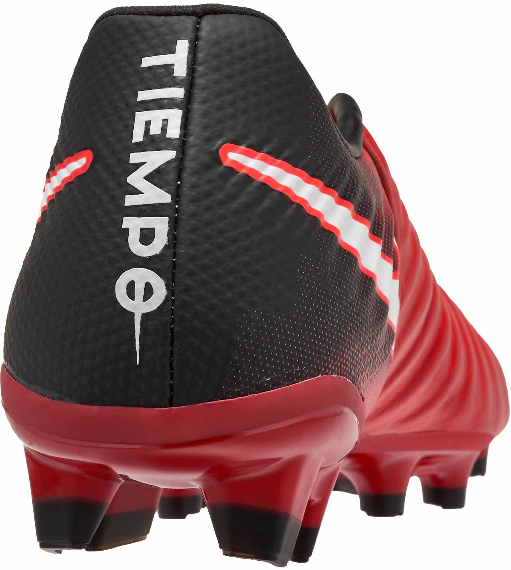 Nike Kids Tiempo Legend VII FG - University Red   White - Soccer Master cdd411c1eb2b8