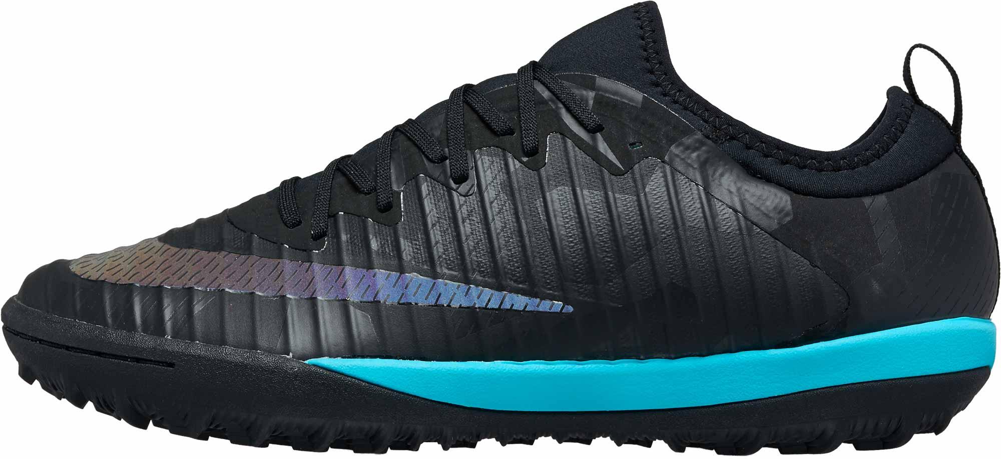 0a2337dd860 Nike MercurialX Finale II TF - SE - Black   Gamma Blue - Soccer Master