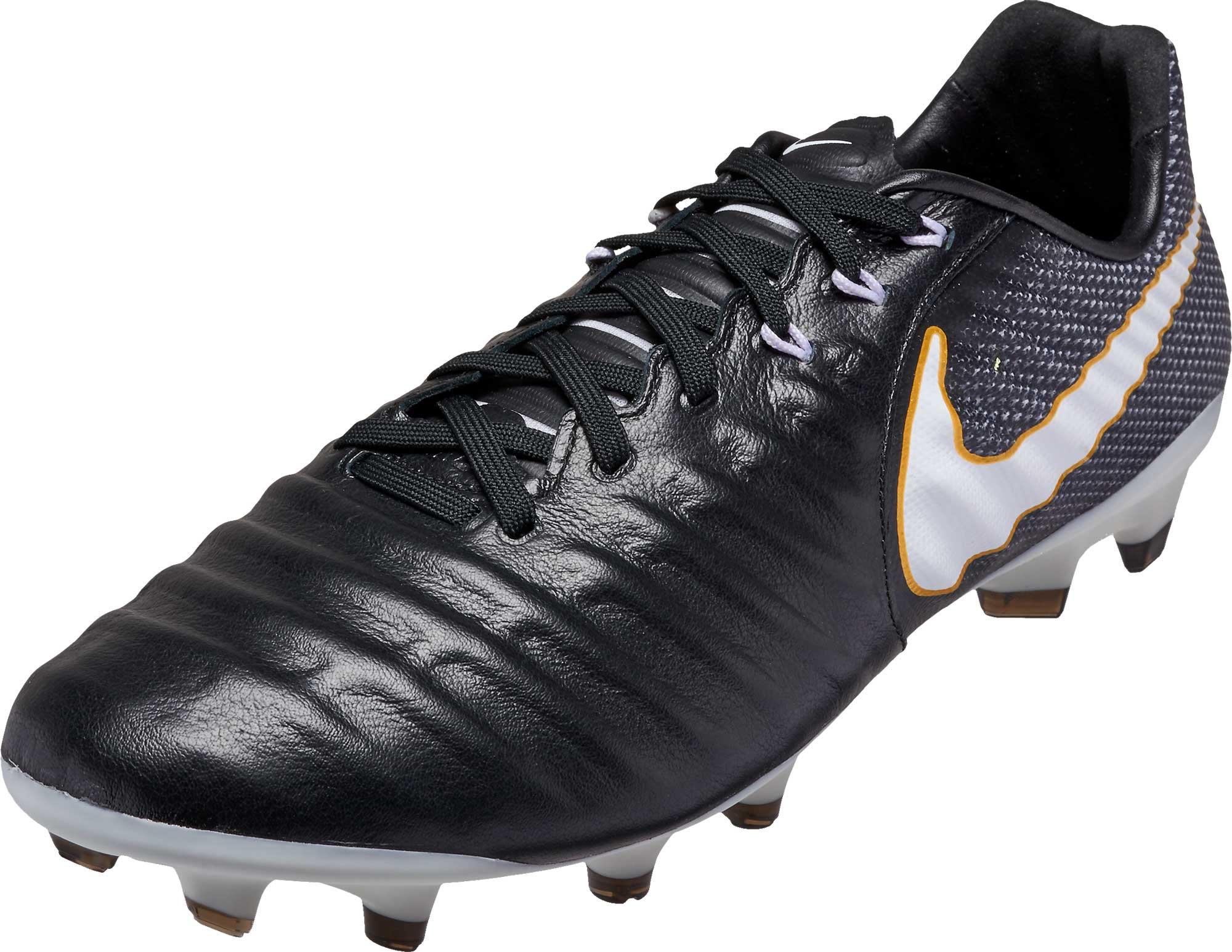 dd11a69ece0 Nike Tiempo Legacy III FG Soccer Cleats - Black   White - Soccer Master