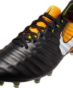 b1f14b38a698 Nike Tiempo Legend VII FG Soccer Cleats - Black & White - Soccer Master