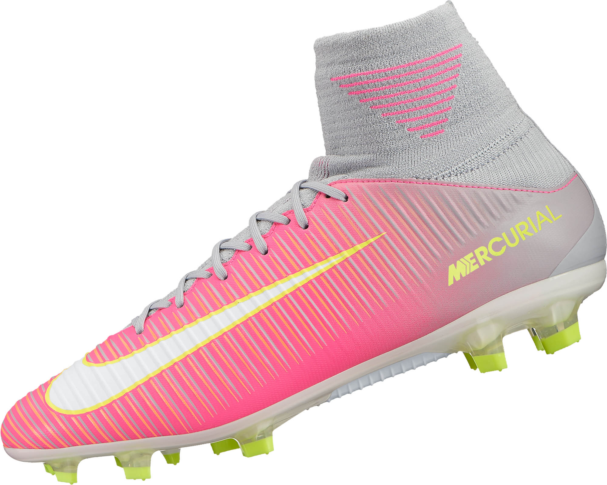 741957979c90 Nike Womens Mercurial Veloce III DF FG - Hyper Pink   White ...