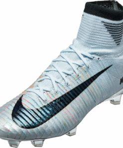c0cb30df079 Nike Mercurial Superfly V FG - CR7 Melhor - Blue Tint   Black ...