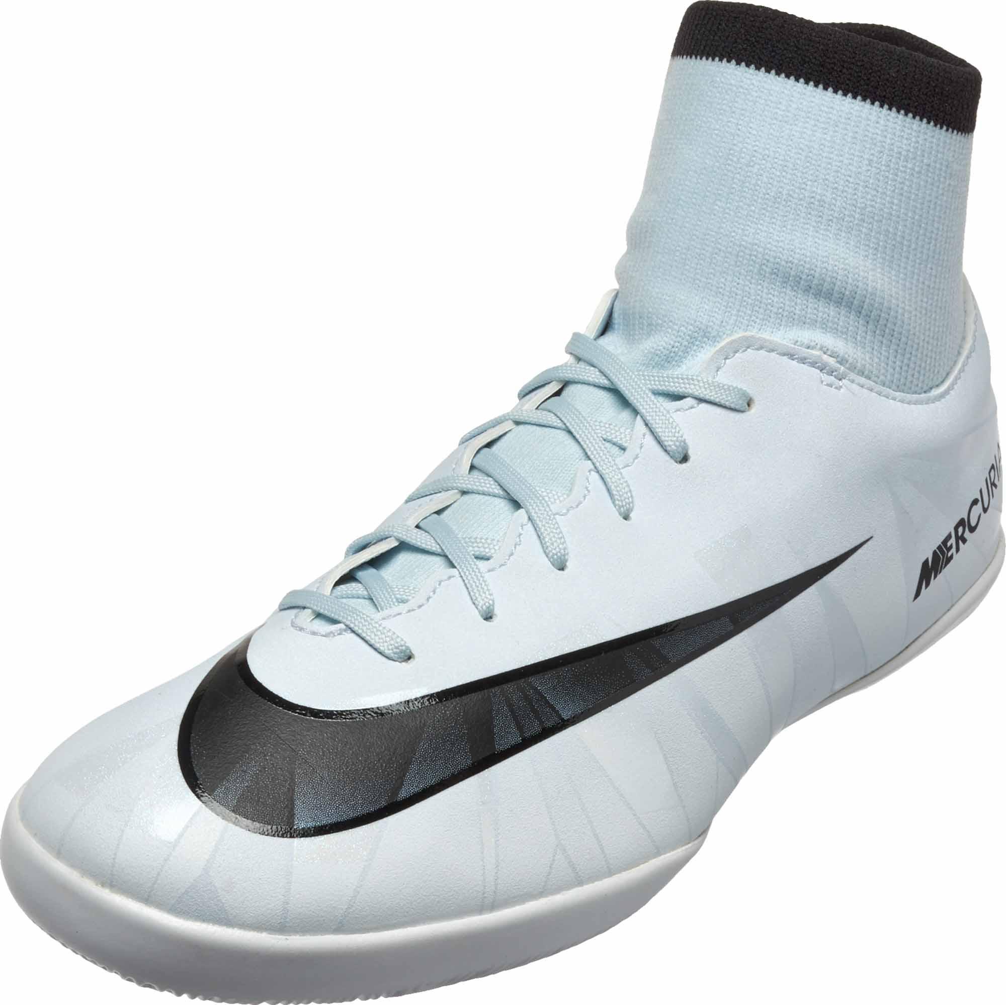 sklep internetowy oficjalne zdjęcia na wyprzedaży Nike Kids MercurialX Victory VI DF IC - CR7 - Blue Tint & Black
