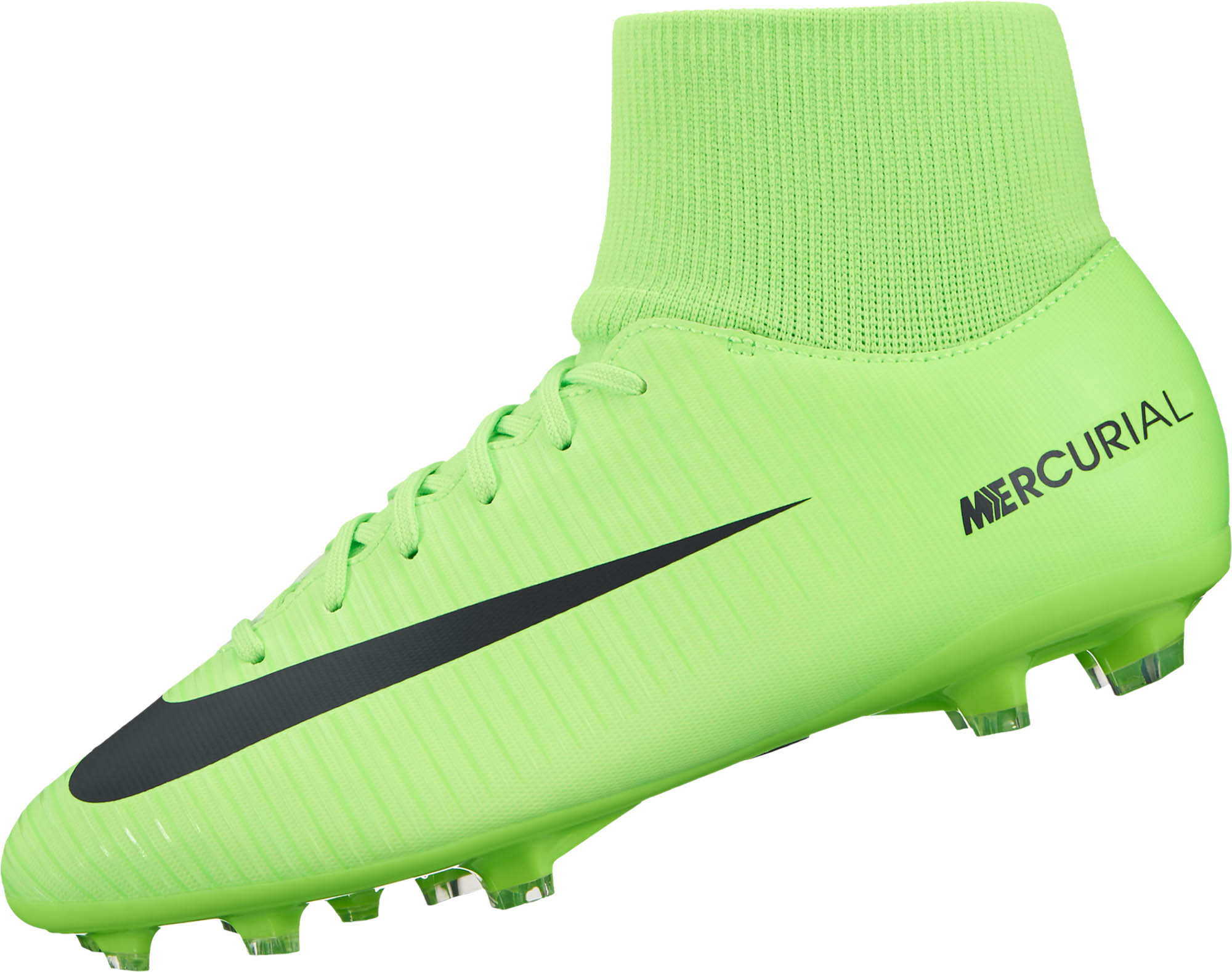 sale retailer 19358 a040f Nike Kids Mercurial Victory VI DF FG Soccer Cleats - Electric ...